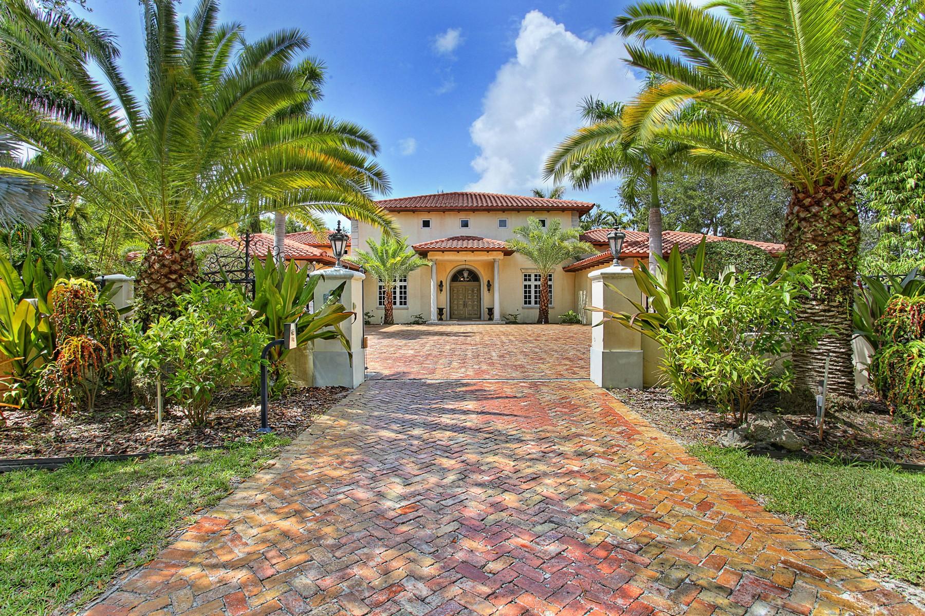 Vivienda unifamiliar por un Venta en 6520 SW 116 St Pinecrest, Florida 33156 Estados Unidos