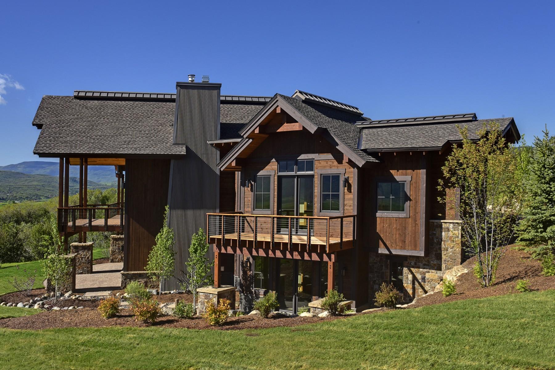 Einfamilienhaus für Verkauf beim Newly Built In Sidney Peak Ranch 30485 Marshall Ridge Road South Valley, Steamboat Springs, Colorado 80487 Vereinigte Staaten