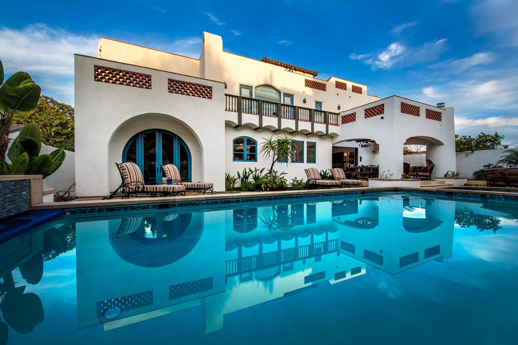 Casa Unifamiliar por un Venta en 1100 Alameda 1100 Alameda Blvd Coronado, California 92118 Estados Unidos