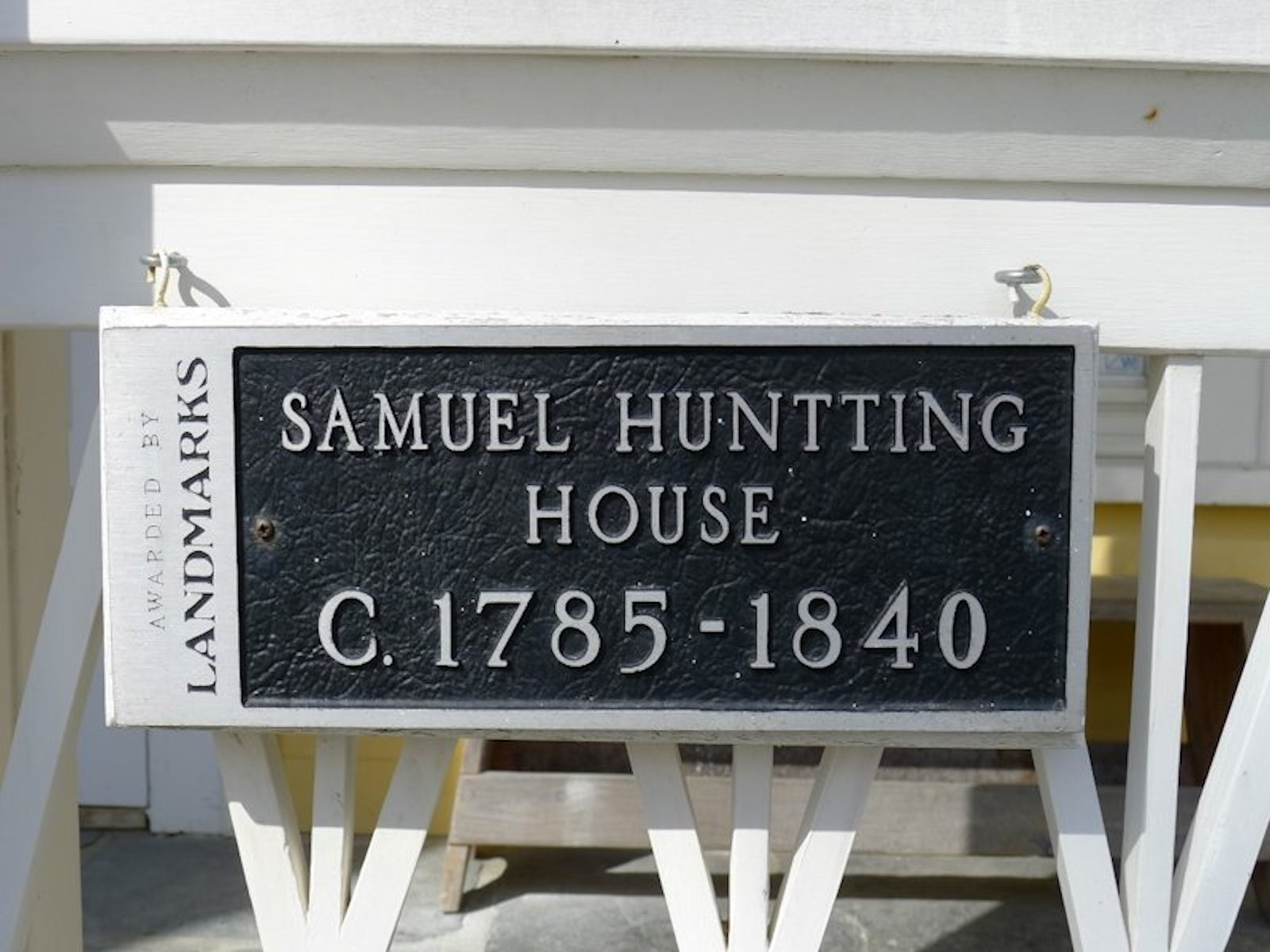 Property Of Samuel Huntting House