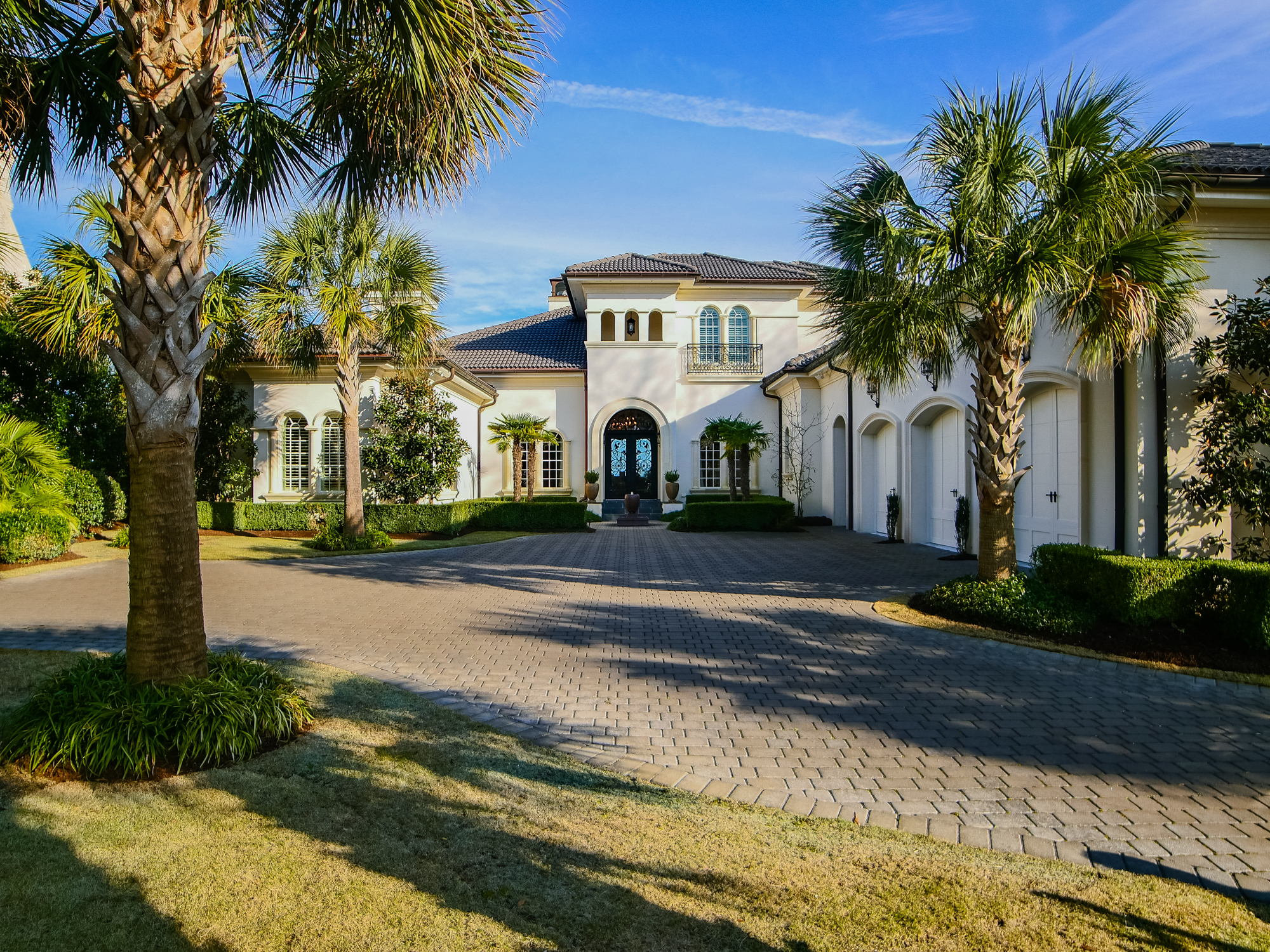 Single Family Home for Sale at Spectacular Mediterranean Revival 2336 Ocean Point Drive Landfall, Wilmington, North Carolina, 28405 United States