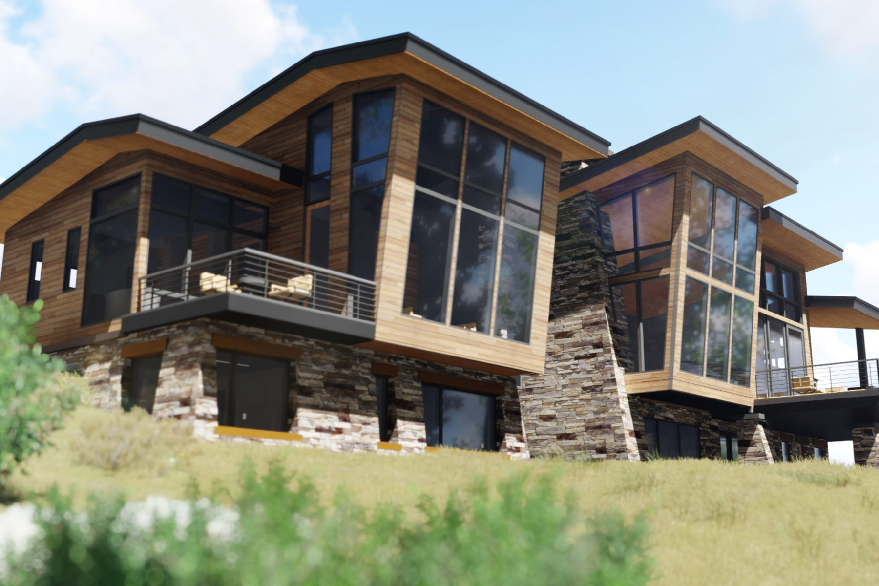 Moradia para Venda às New Construction in the Colony 62 White Pine Canyon Rd Park City, Utah, 84098 Estados Unidos