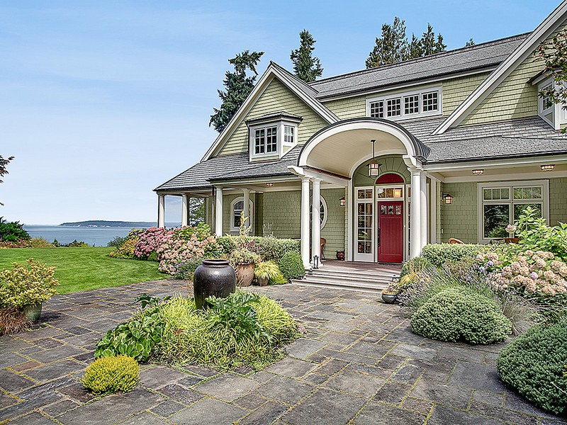 Single Family Home for Sale at Whidbey Island Masterpiece xxxx Undisclosed Langley, Washington 98260 United States