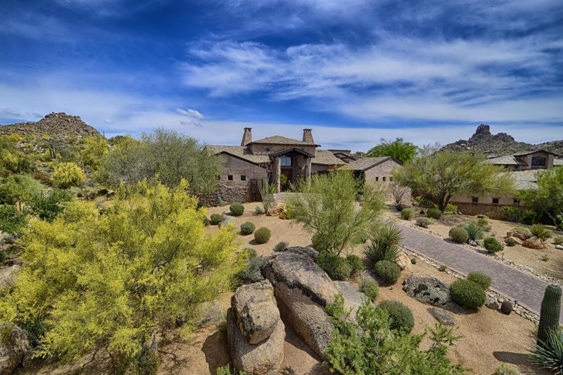 Property For Sale at Elegant Estancia Home with Mountain Views