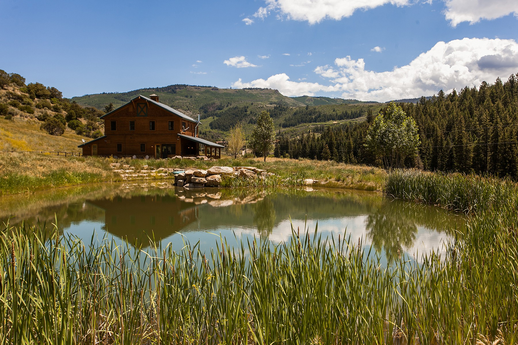 Single Family Home for Sale at La Montana Ranch 3000 Salt Creek Road Eagle, Colorado, 81631 United States