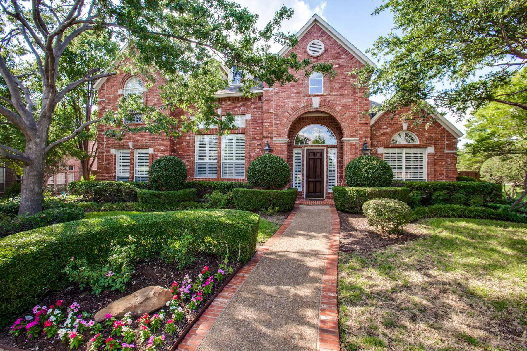 Villa per Vendita alle ore Starwood Traditional Beauty 5689 Widgeon Way Frisco, Texas, 75034 Stati Uniti