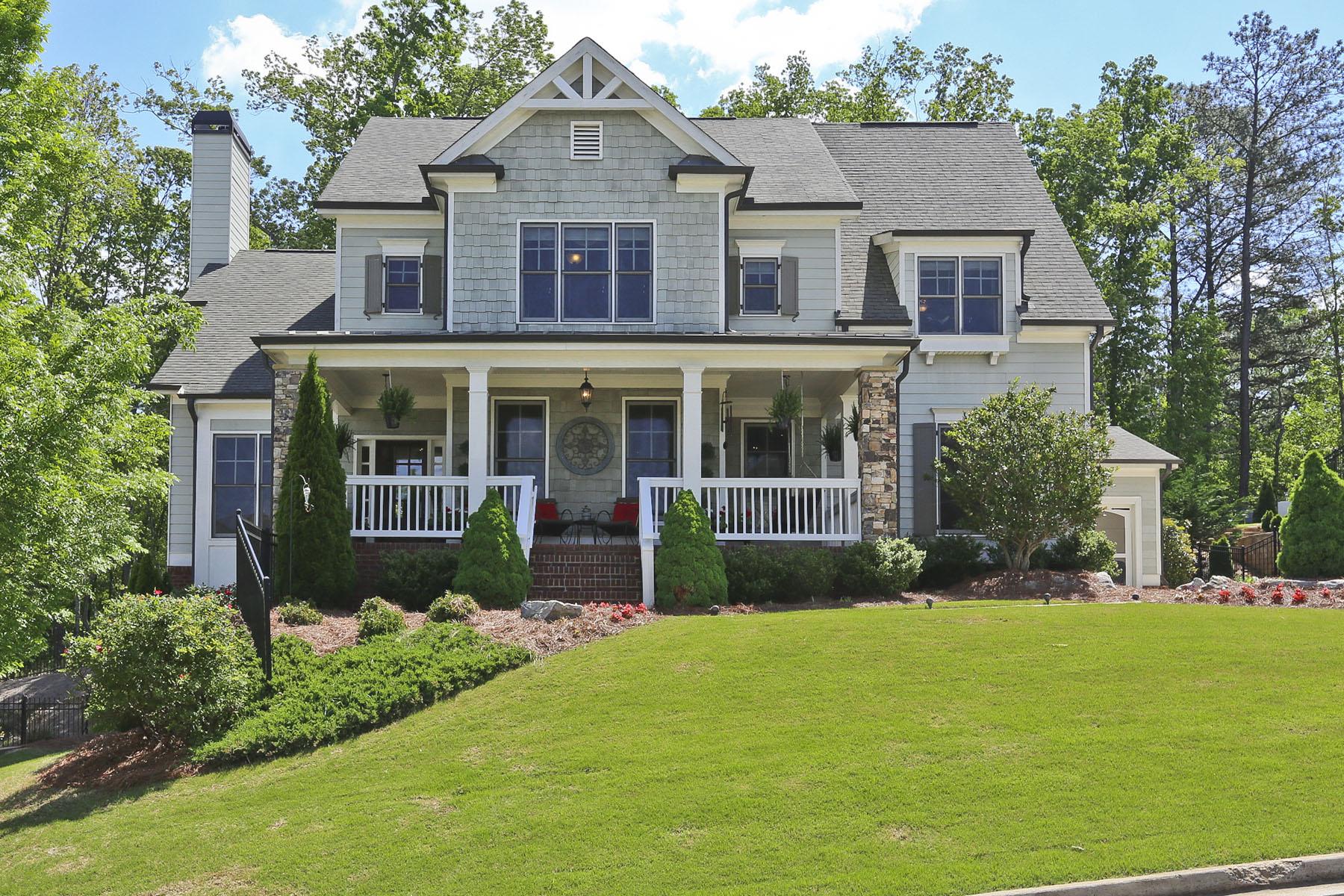 Einfamilienhaus für Verkauf beim Enjoy the breeze and a lemonade on the front porch!! 1720 Marcia Overlook Drive Cumming, Georgia 30041 Vereinigte Staaten