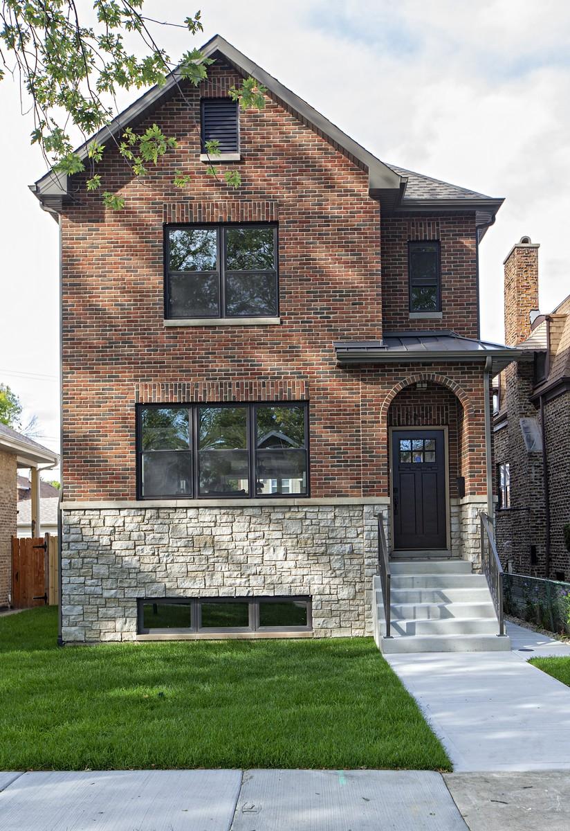 Разнобразная частная недвижимость для того Продажа на New Construction Single Family Home 4649 N Kennicott Avenue Albany Park, Chicago, Иллинойс, 60630 Соединенные Штаты