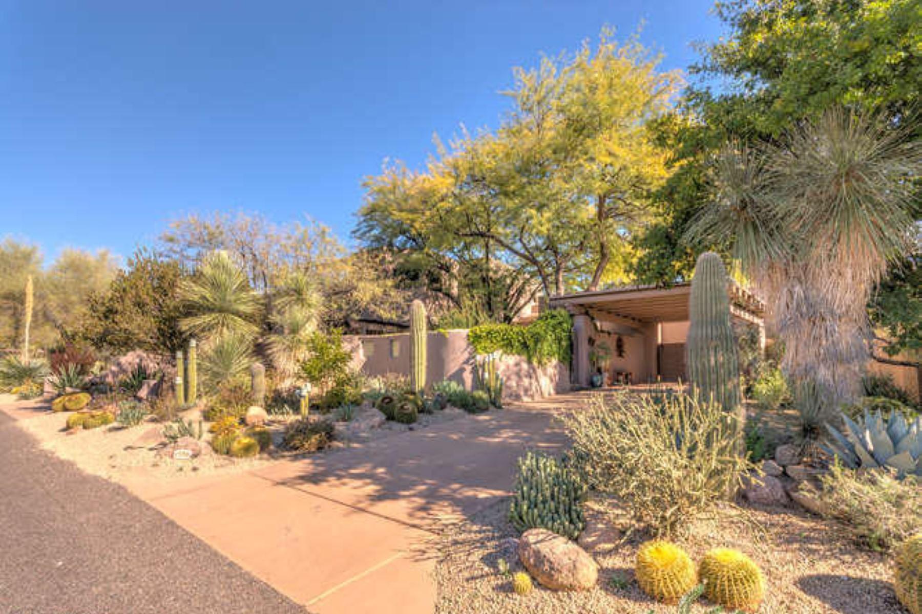 Vivienda unifamiliar por un Venta en One of the most desirable, centrally located properties in the Boulders 1598 N Quartz Valley Rd Scottsdale, Arizona 85266 Estados Unidos