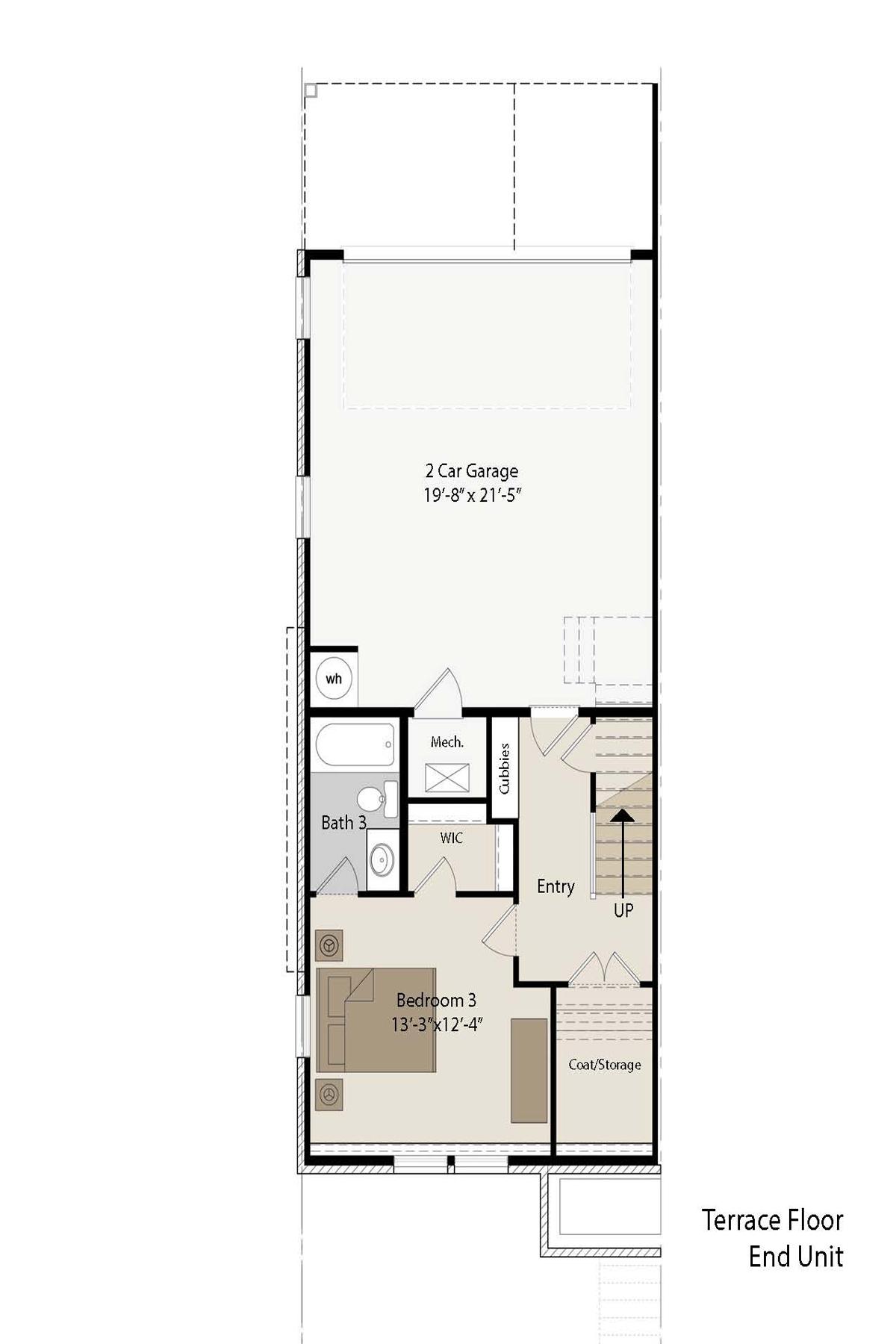 Additional photo for property listing at Luxury Townhome Next To Blackburn Park 3557 Blair Circle Atlanta, 喬治亞州 30319 美國