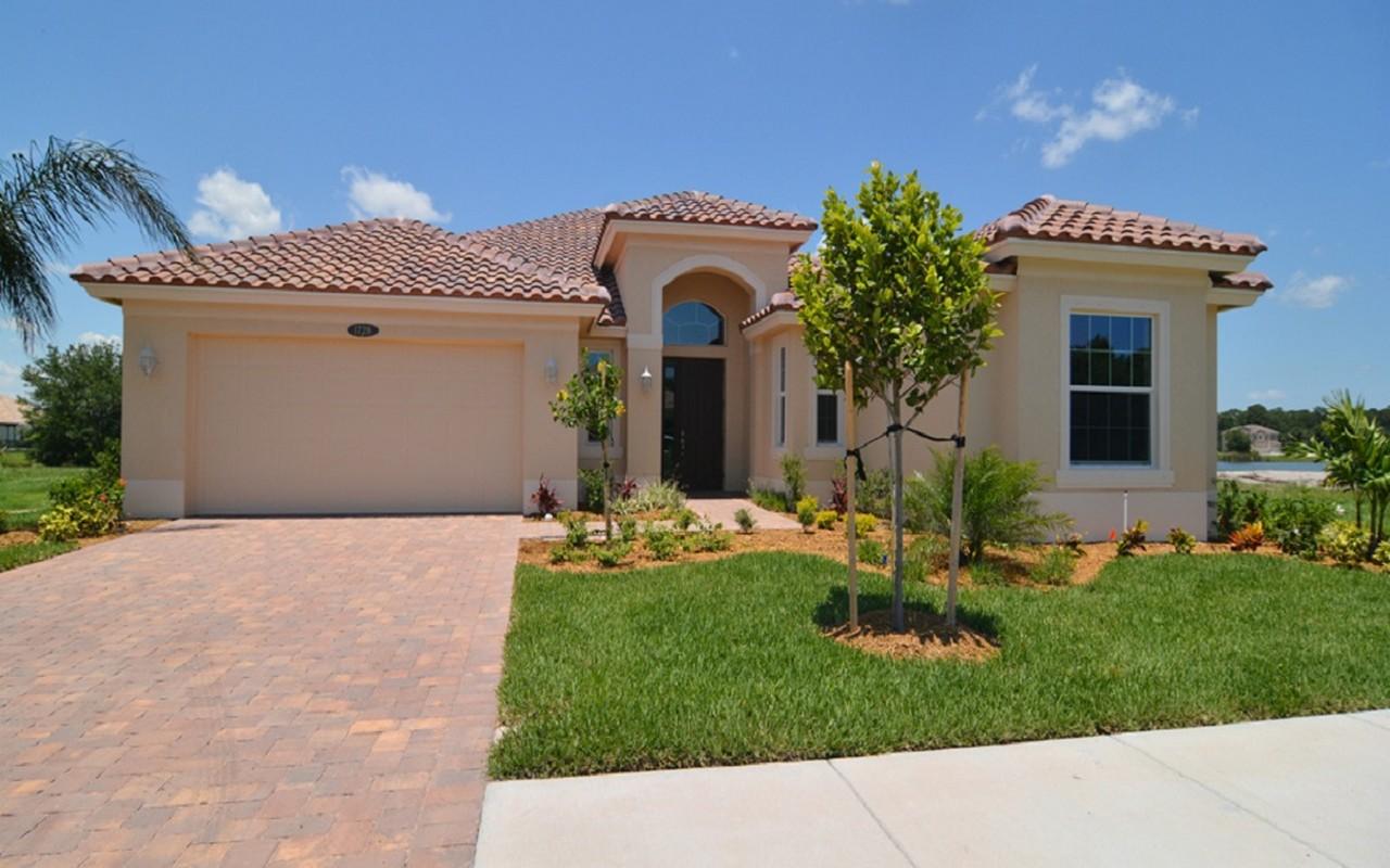 Casa Unifamiliar por un Venta en Marquesa Model Home 1728 Belmont Circle SW Vero Beach, Florida, 32968 Estados Unidos