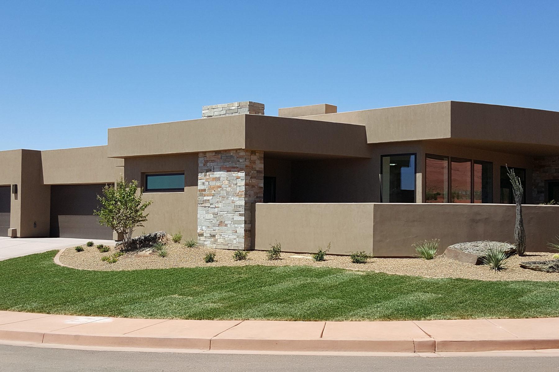 Maison unifamiliale pour l Vente à Exquisite Location with Unmatched Views 181 N Desert Ln Ivins, Utah, 84738 États-Unis