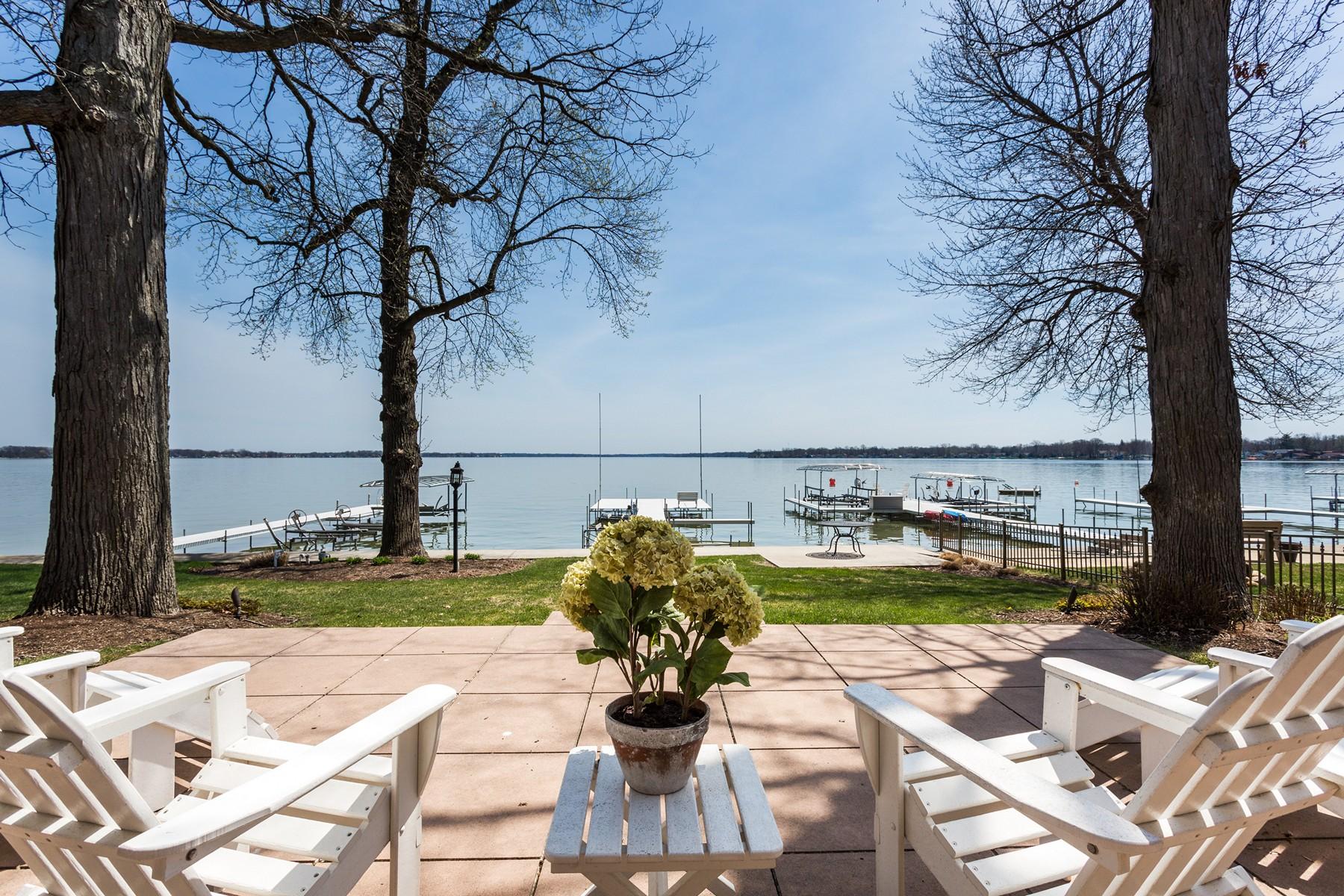 sales property at Charming Yet Elegant Lake Wawasee Home