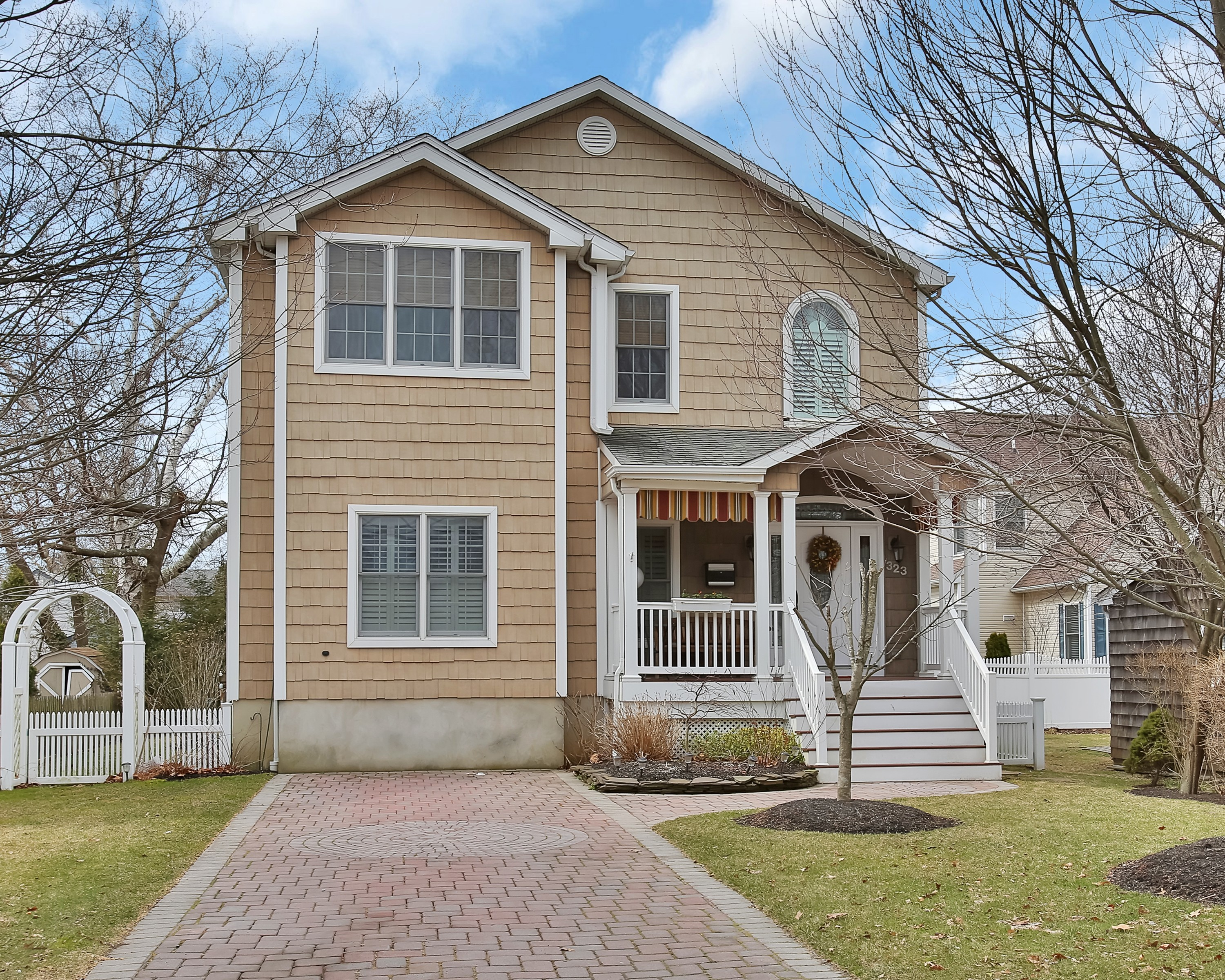 Single Family Home for Sale at Spacious Custom Home 323 E Main St Manasquan, New Jersey 08736 United States