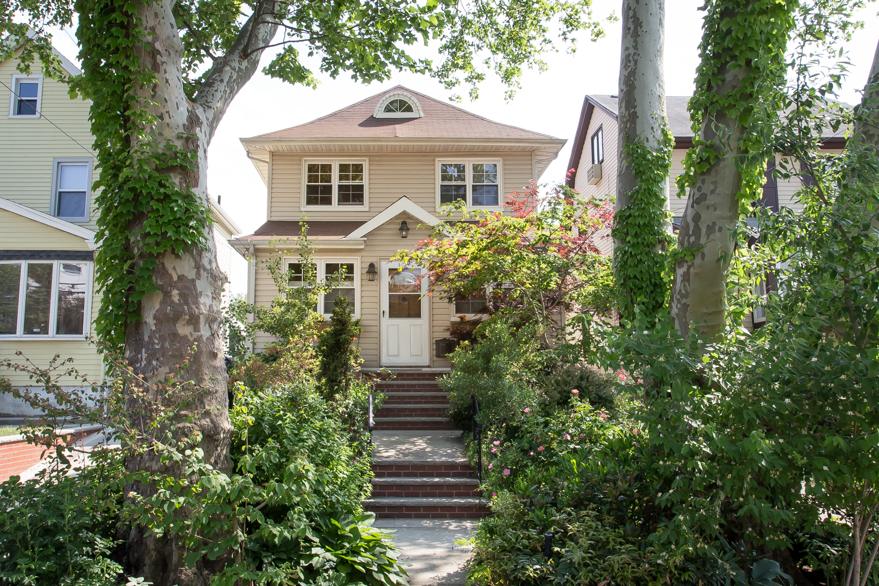 "Single Family Home for Sale at ""HIDEAWAY RETREAT"" 72-38 Kessel Street, Forest Hills, New York 11375 United States"