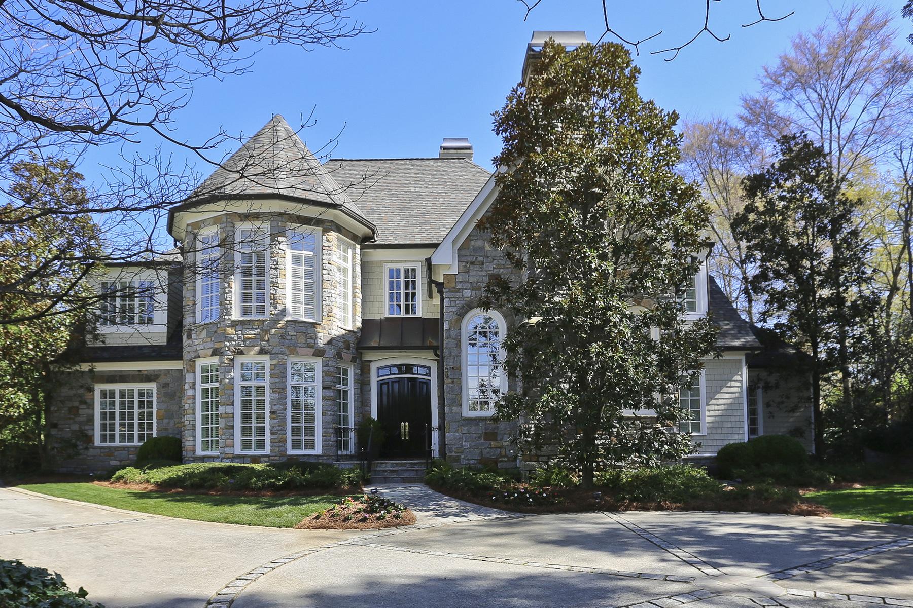 Villa per Vendita alle ore Buckhead Beauty 4037 Wieuca Road NE Buckhead, Atlanta, Georgia, 30342 Stati Uniti