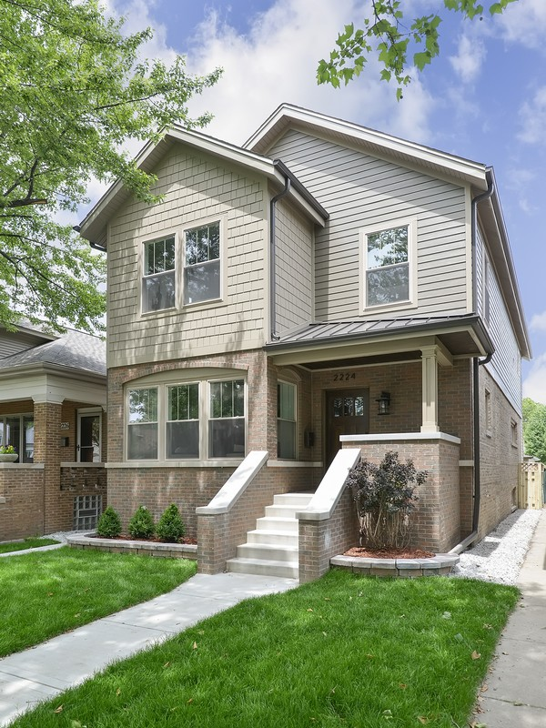 Single Family Home for Sale at Fully Redesigned Lincoln Square Home 2224 W Carmen Avenue Lincoln Square, Chicago, Illinois 60625 United States