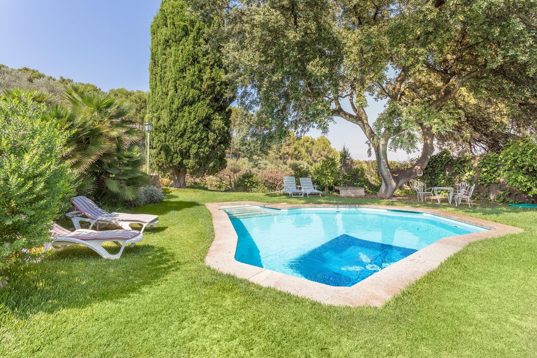 Single Family Home for Sale at Grand Villa with swimming pool in Son Vida Palma, Mallorca 07013 Spain