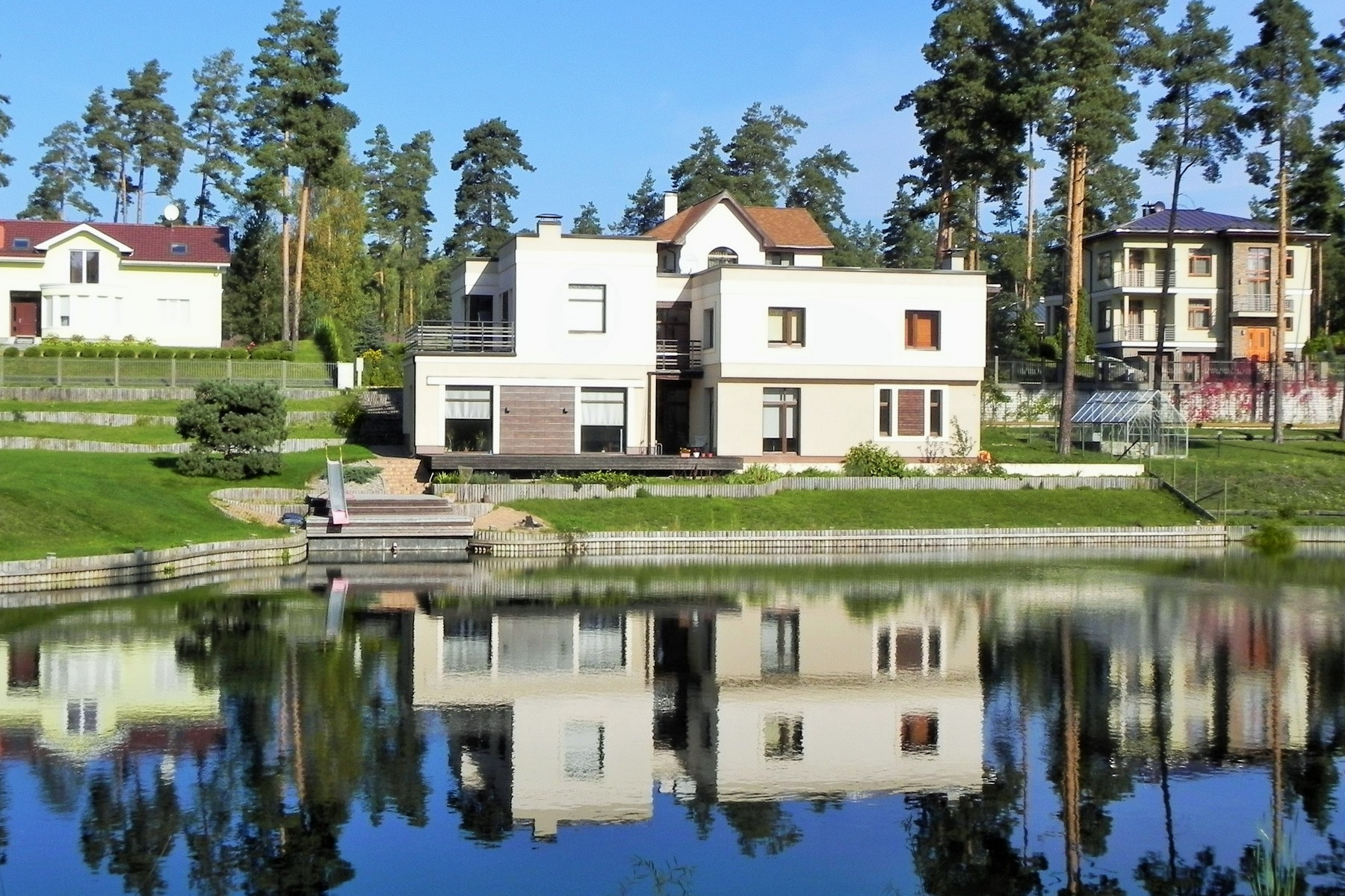 Property For Sale at Modern house in Sunisi private village in Latvia
