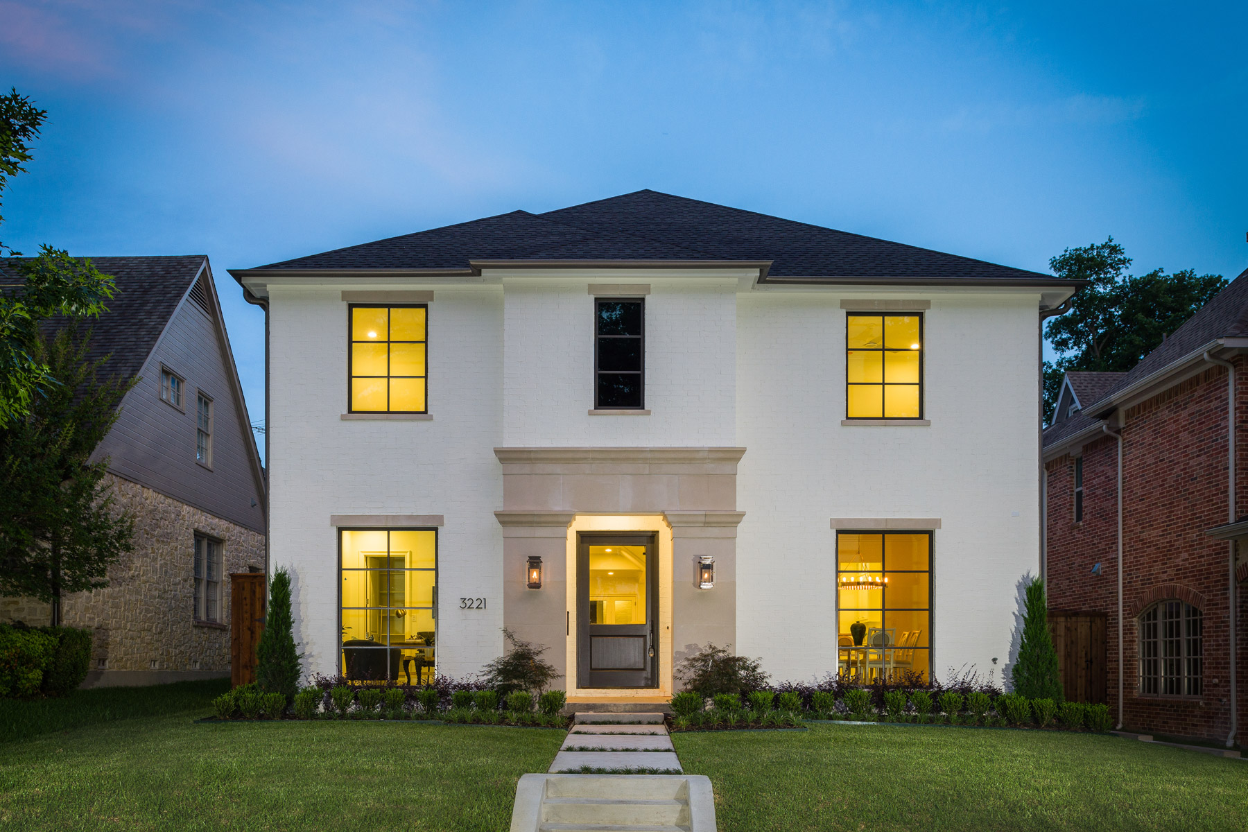 Single Family Home for Sale at University Park Transitional 3221 Rankin Street Dallas, Texas, 75205 United States