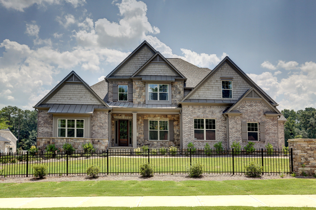 rentals property at New Executive Home For Lease In Sandy Springs
