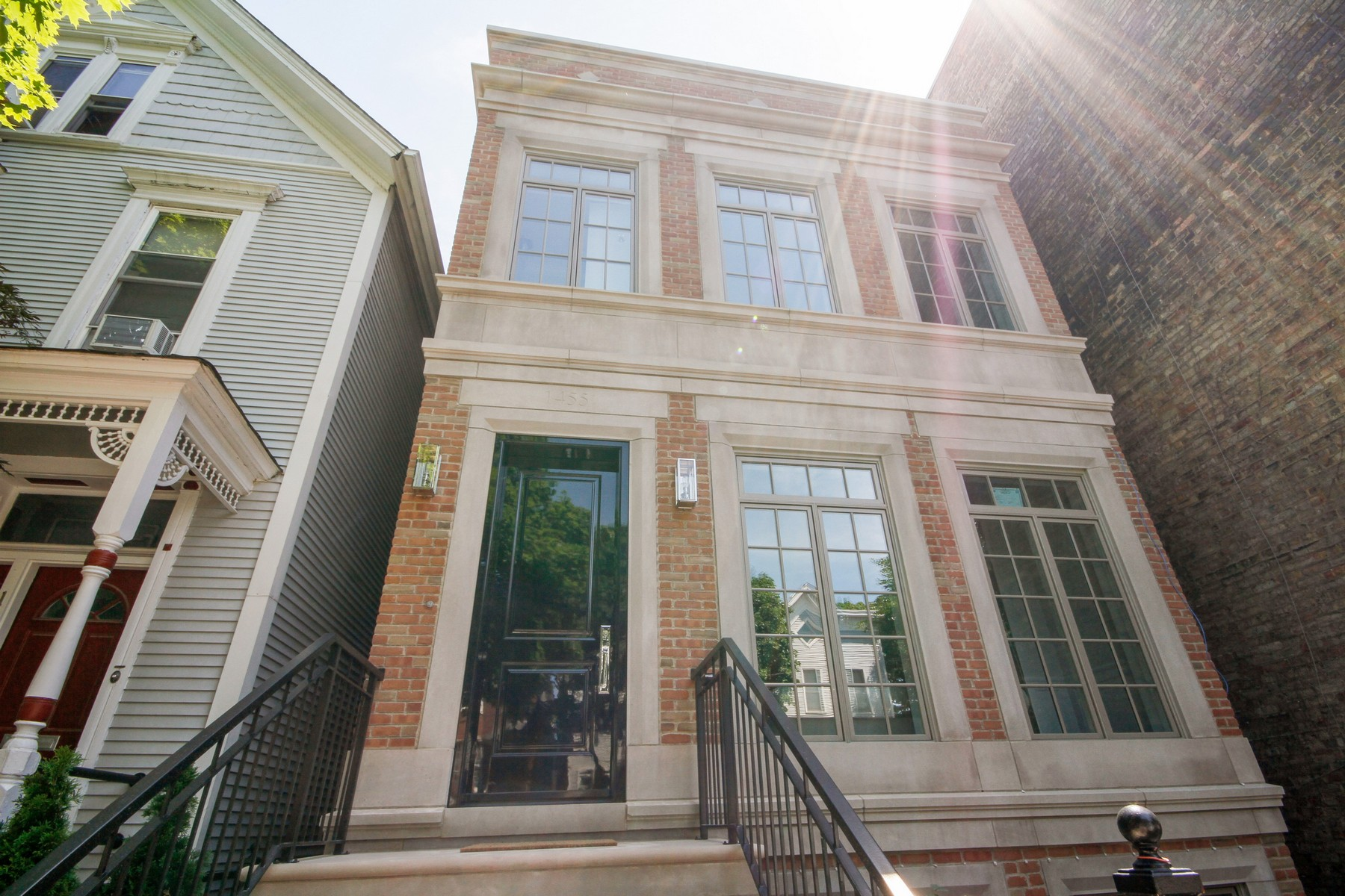 Single Family Home for Sale at Exquisite New Construction 1455 W School Street Lakeview, Chicago, Illinois, 60657 United States