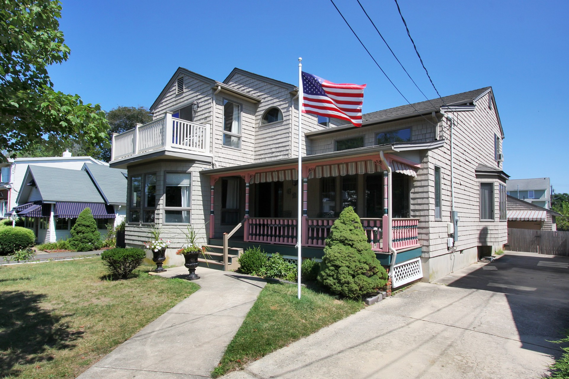 Single Family Home for Sale at Spacious and Graceful Home 62 Rogers Avenue Manasquan, New Jersey 08736 United States
