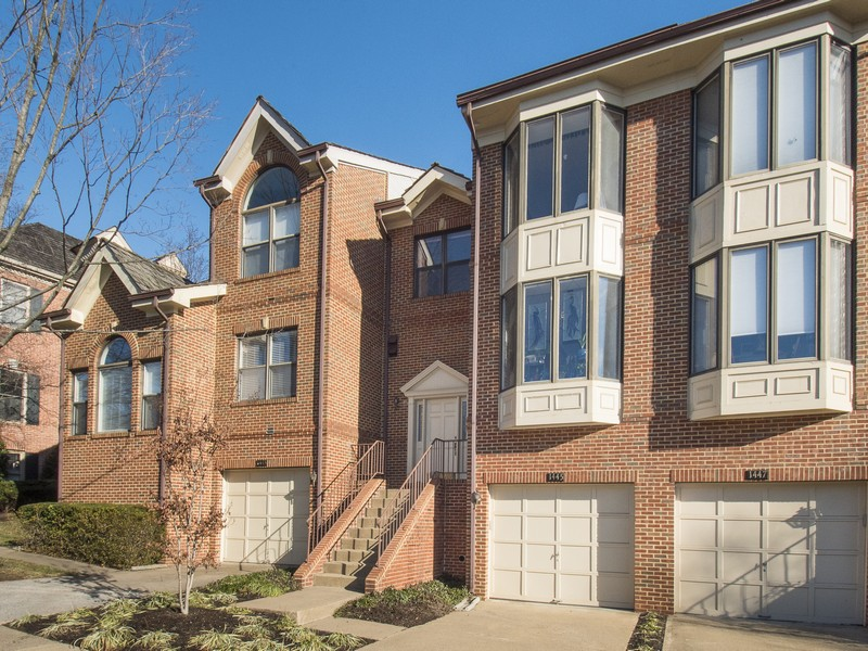 Townhouse for Sale at Hamptons of Mclean 1445 Hampton Hill Cir McLean, Virginia 22101 United States