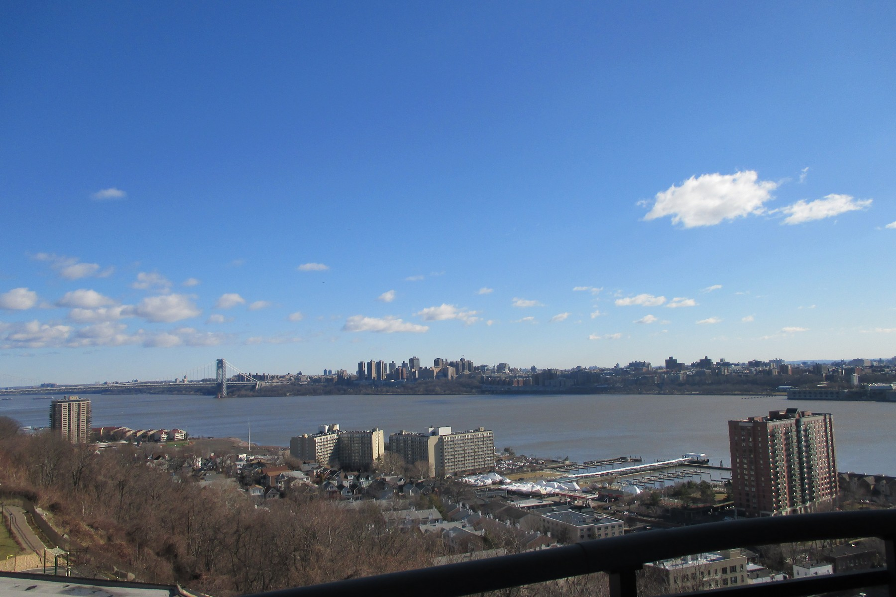 rentals property at Gorgeous, renovated apartment with views from every room.