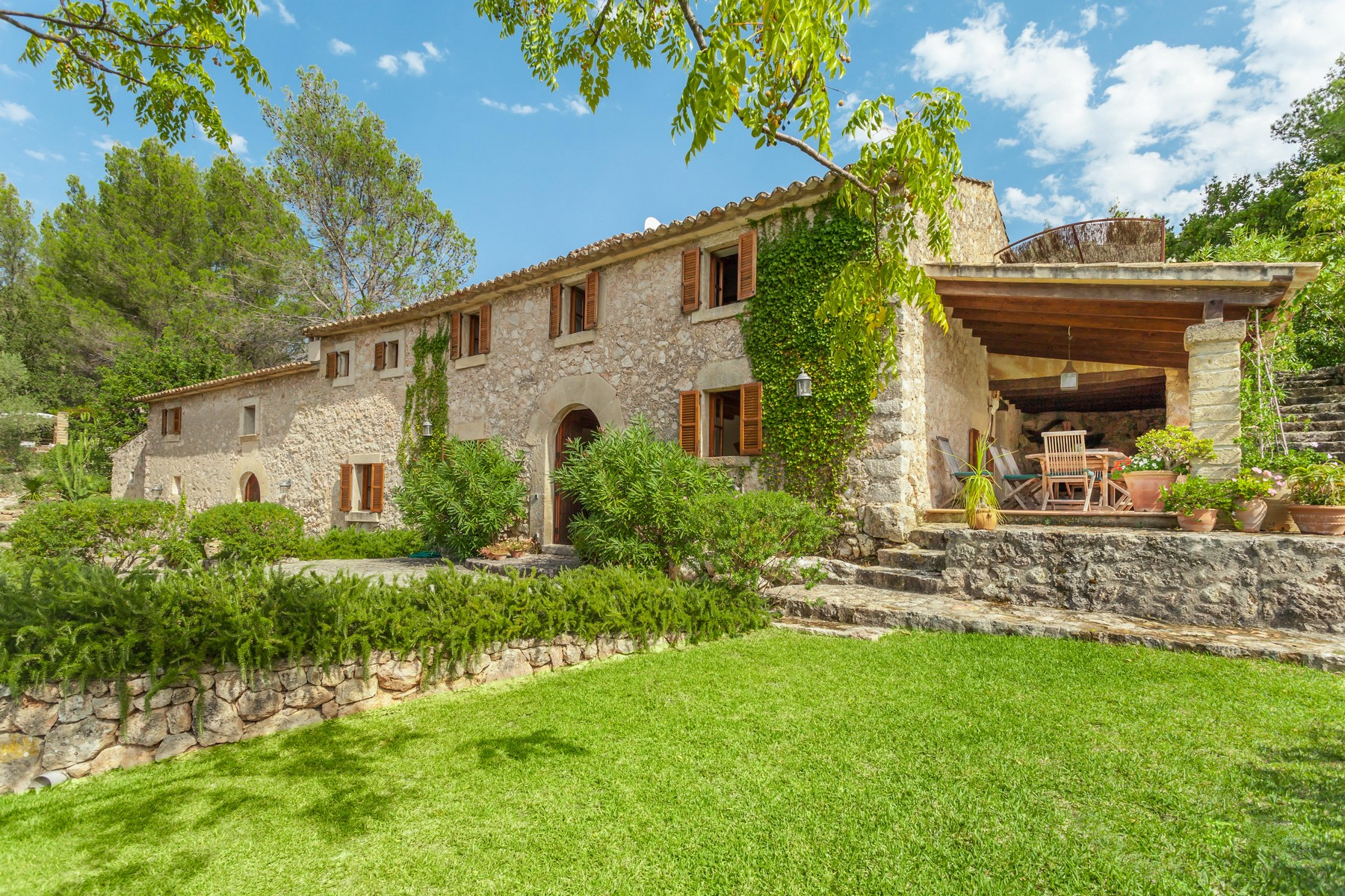 Single Family Home for Sale at Country estate with beautiful views in Pollensa Pollenca, Balearic Islands 07460 Spain