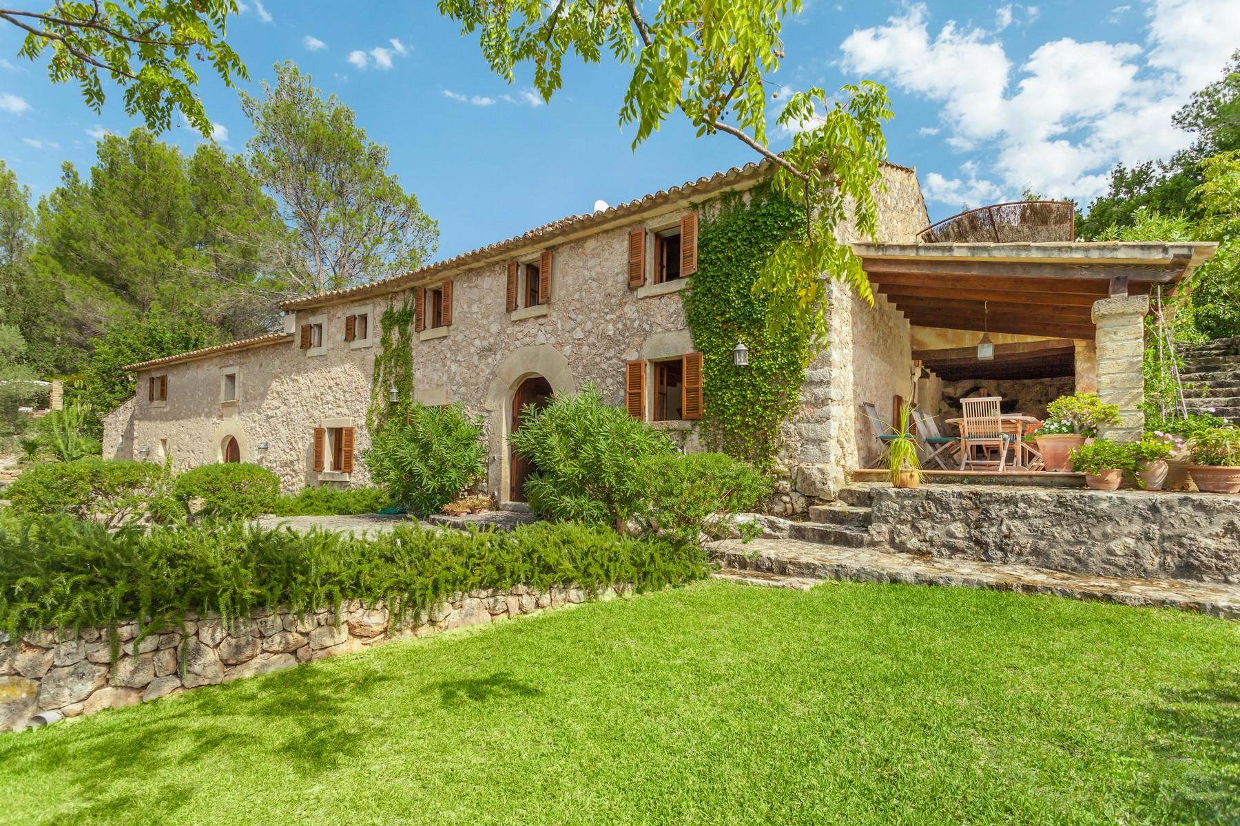Einfamilienhaus für Verkauf beim Exklusive Finca mit herrlichem Blick in Pollensa Pollenca, Balearic Islands 07460 Spanien