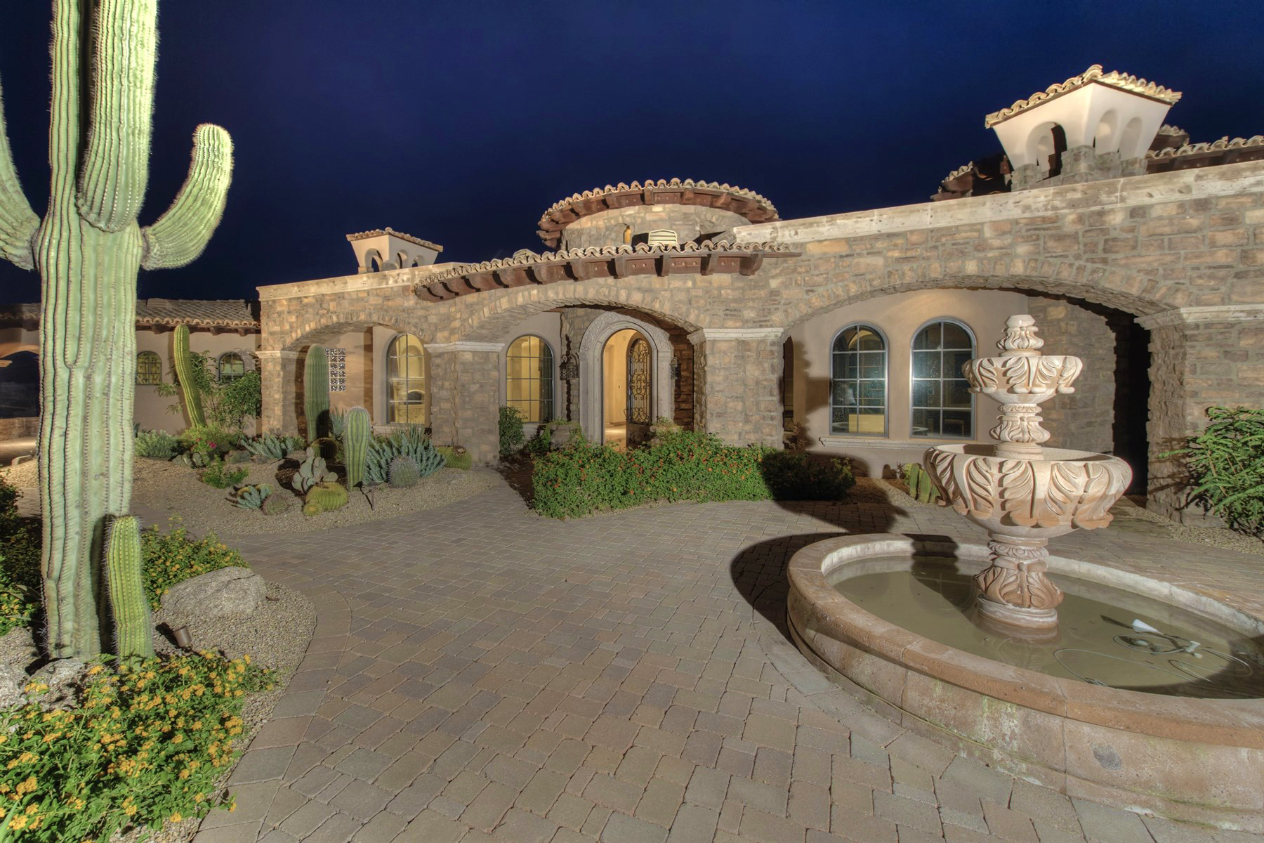 Single Family Home for Sale at Stunning Private Estate On Nearly 3 Acres In Guard-Gated Whisper Rock Estates 8613 E Artisan Pass Scottsdale, Arizona 85266 United States