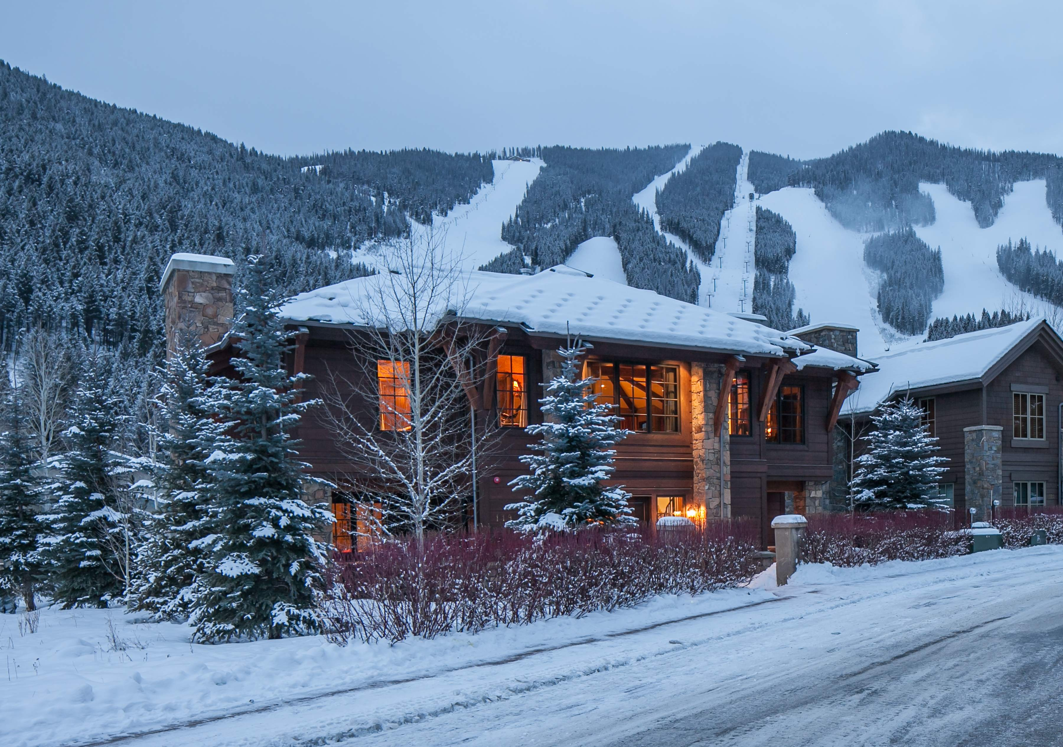 sales property at Luxurious Ski Retreat