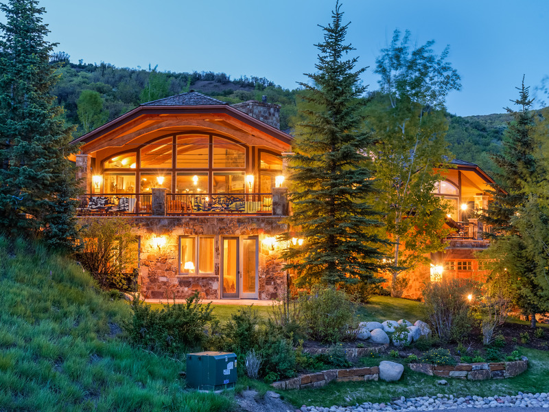 Single Family Home for Sale at Space in Horse Ranch 189 Saddleback Lane Snowmass Village, Colorado 81615 United States