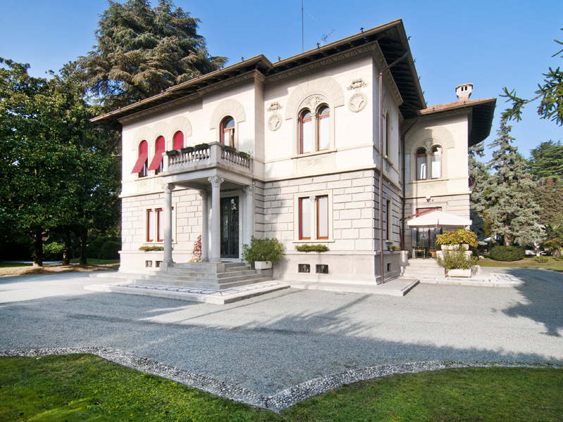 Single Family Home for Sale at Splendid 19th century villa Tradate Tradate, Varese 21049 Italy