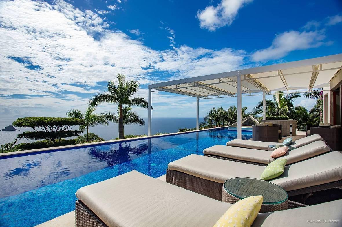 獨棟家庭住宅 為 出售 在 Villa La Grande Maison des Etoiles Colombier Colombier, 97133 聖巴泰勒米島