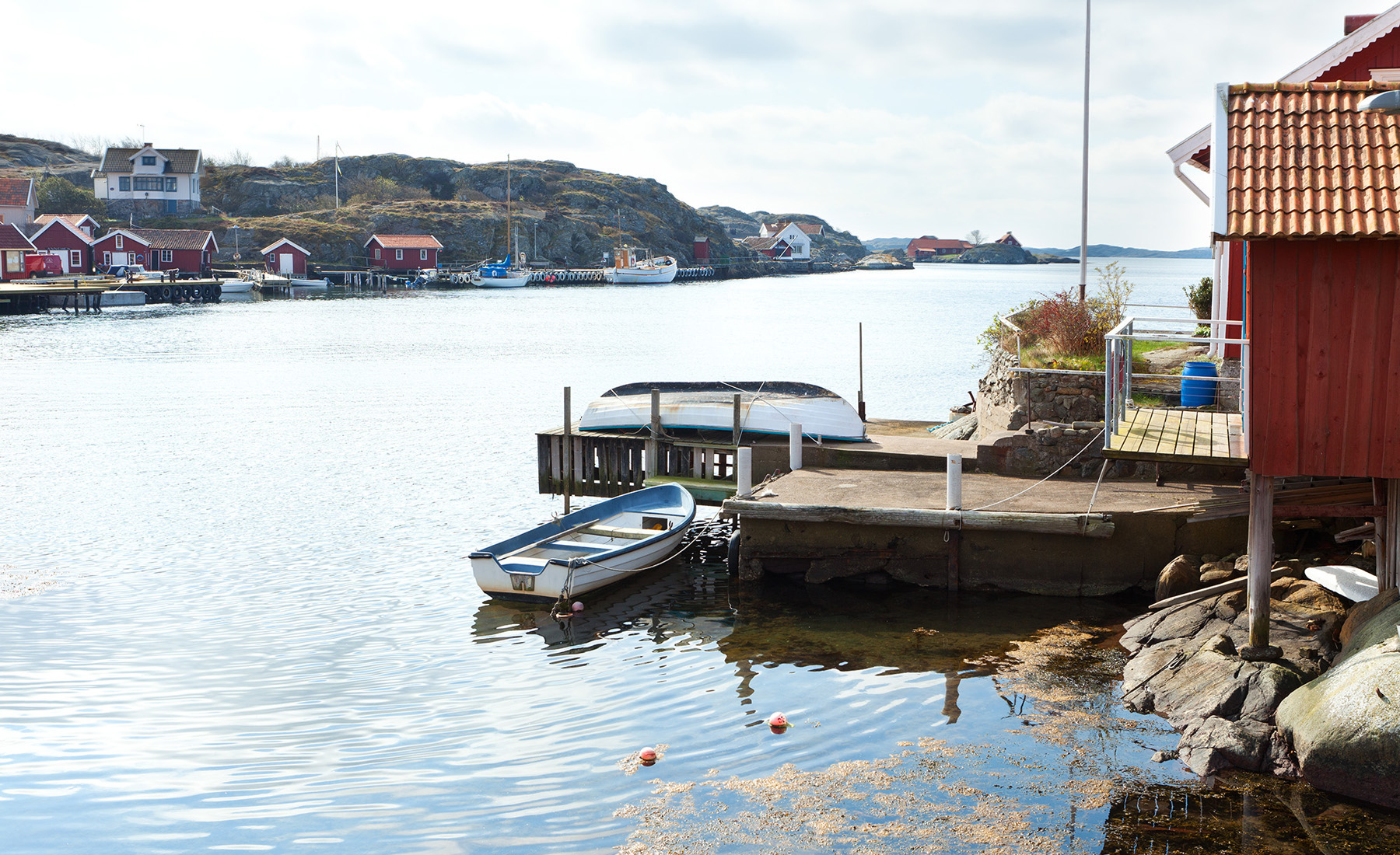 sales property at Renovated house with two boatspaces
