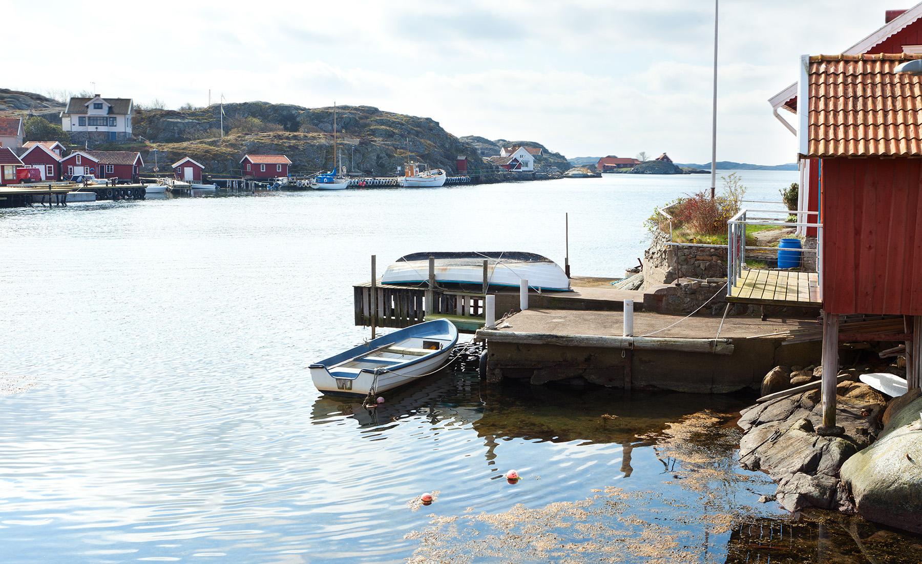 Einfamilienhaus für Verkauf beim Renovated house with two boatspaces Härön Berget 264 Other Vastra Gotaland, Vastra Gotaland, 47190 Schweden