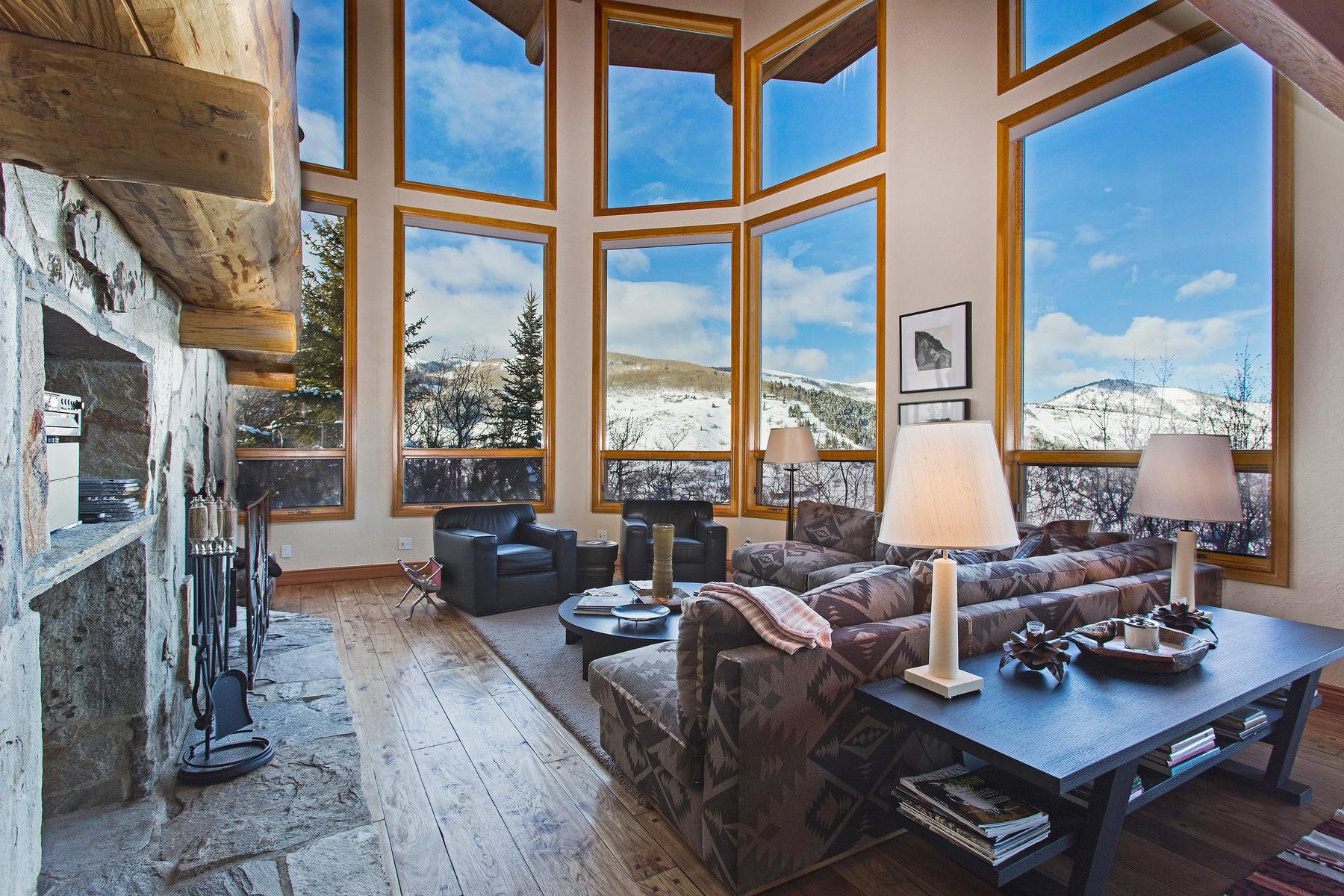 Частный односемейный дом для того Продажа на Awe-Inspiring Town and Mountain Views 218 Golden Eagle Dr Park City, Юта, 84060 Соединенные Штаты