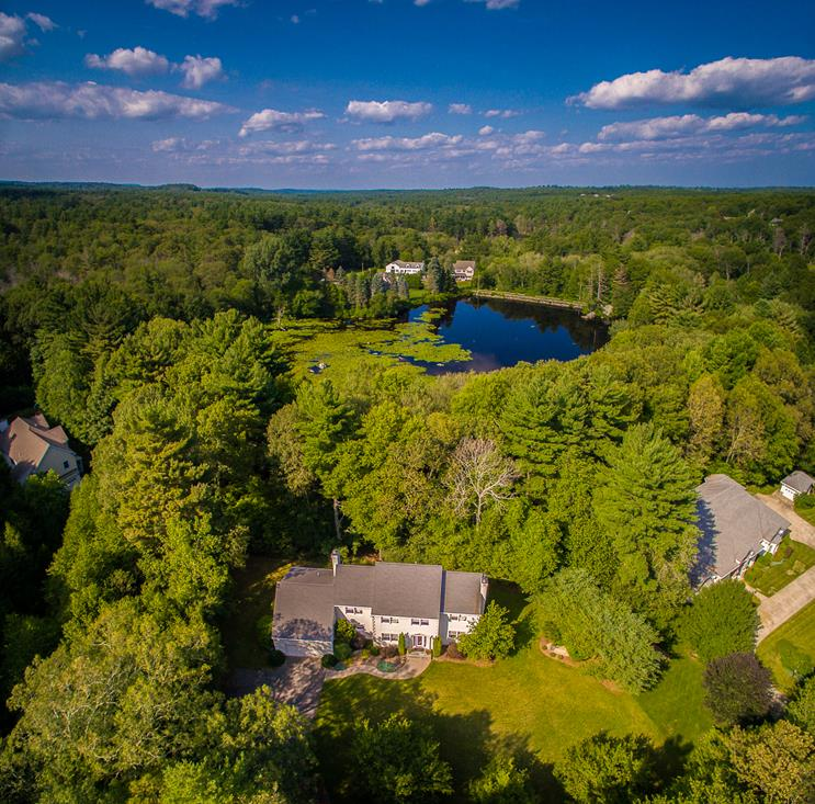 Single Family Home for Sale at Private, Elegant and Classy Colonial 6 Peter Porcaro Drive Hopkinton, Massachusetts 01748 United States