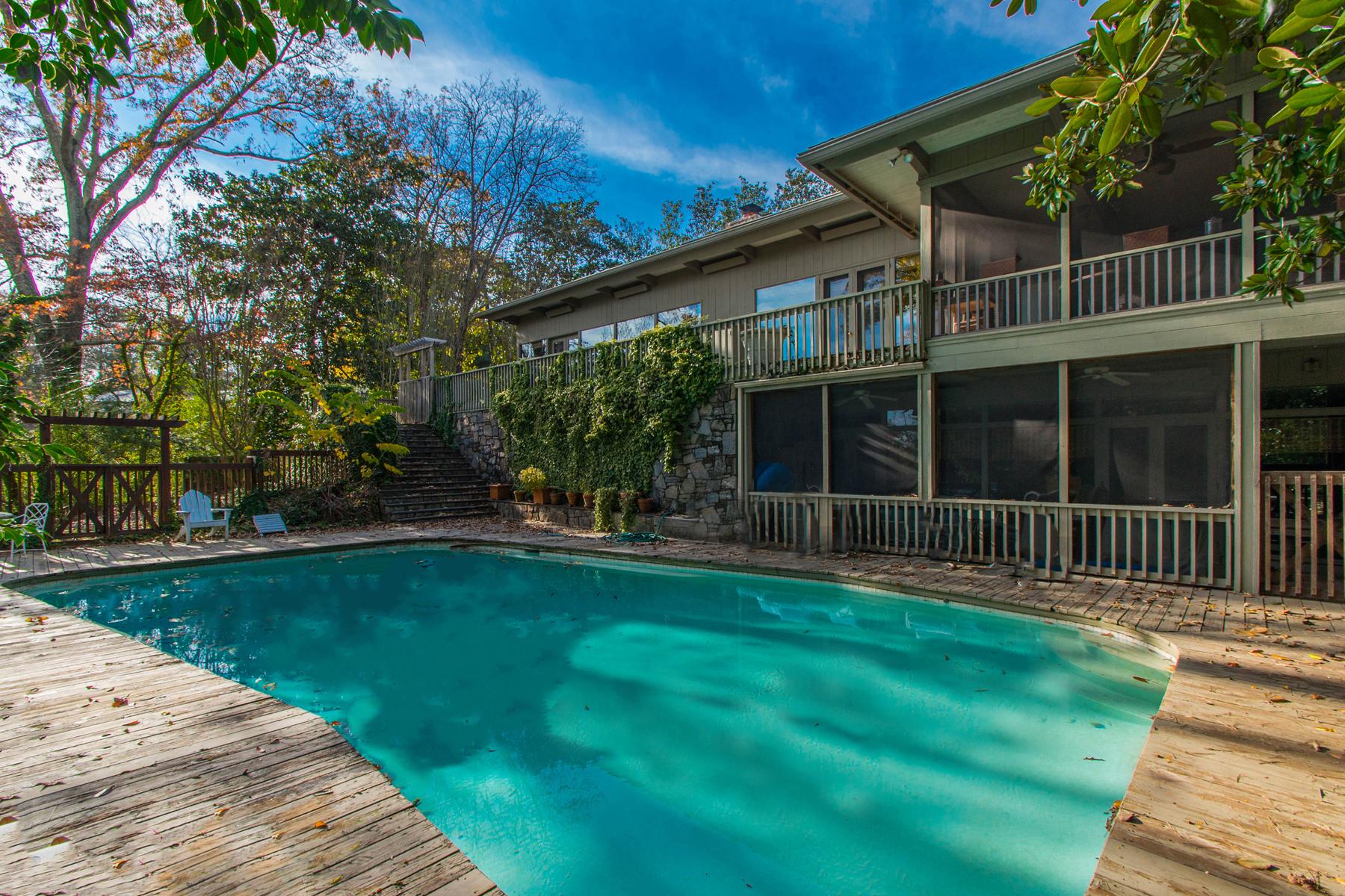 獨棟家庭住宅 為 出售 在 2.6 Acre Lot With Incredible View Of Downtown Atlanta 3980 Randall Mill Road NW Atlanta, 喬治亞州, 30327 美國