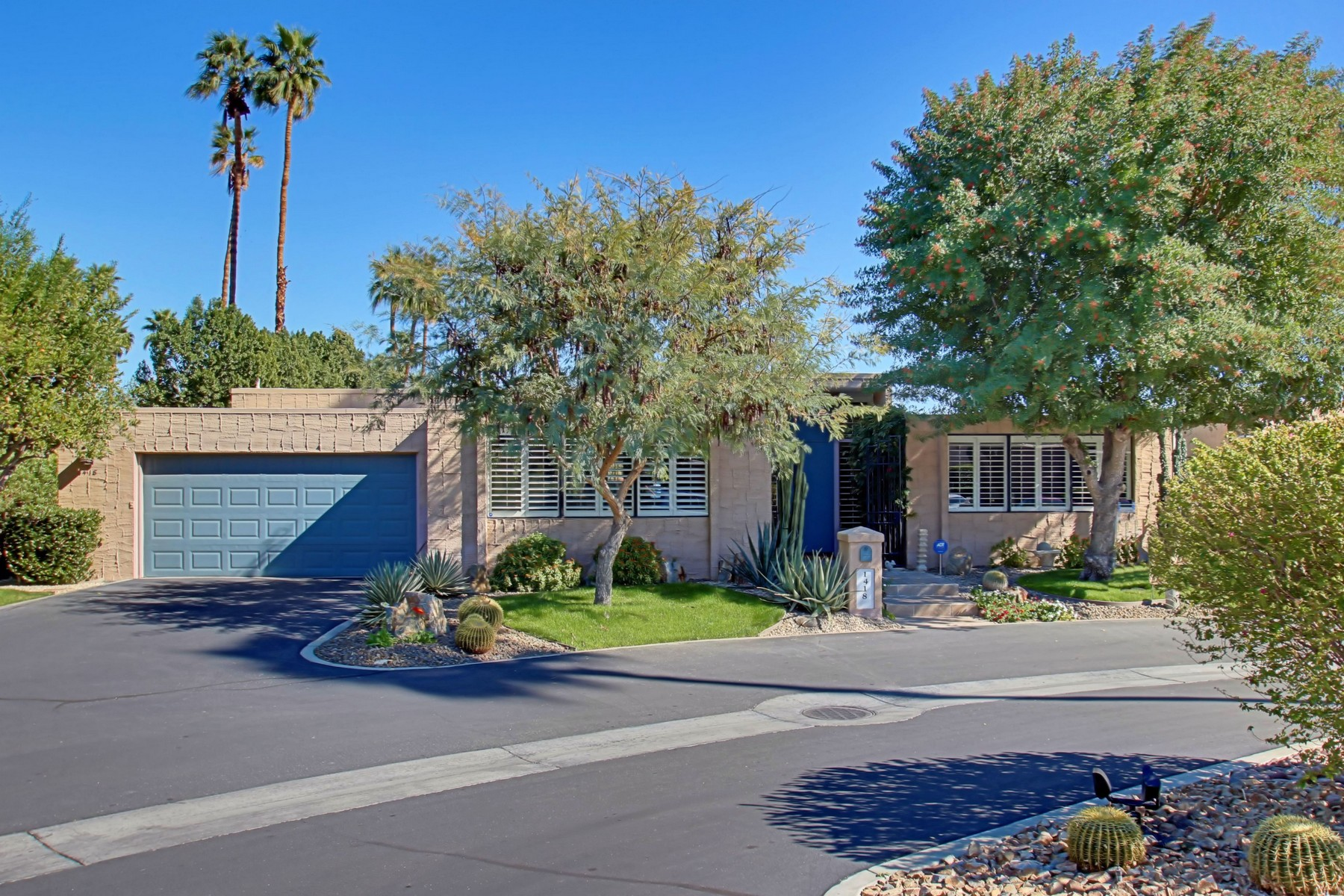 Single Family Home for Sale at 1418 Tamarisk West Street Rancho Mirage, California 92270 United States