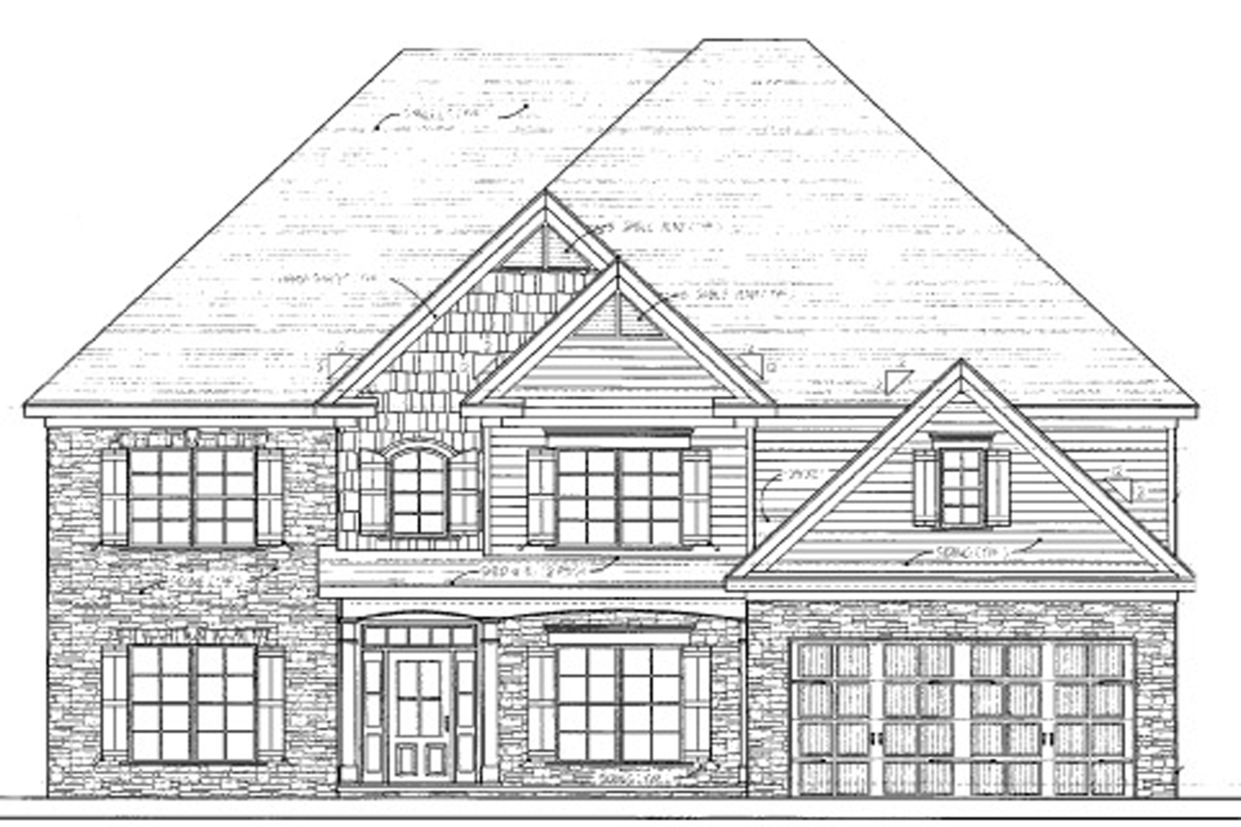 Single Family Home for Active at Great New Construction 496 Crimson Drive Dallas, Georgia 30132 United States