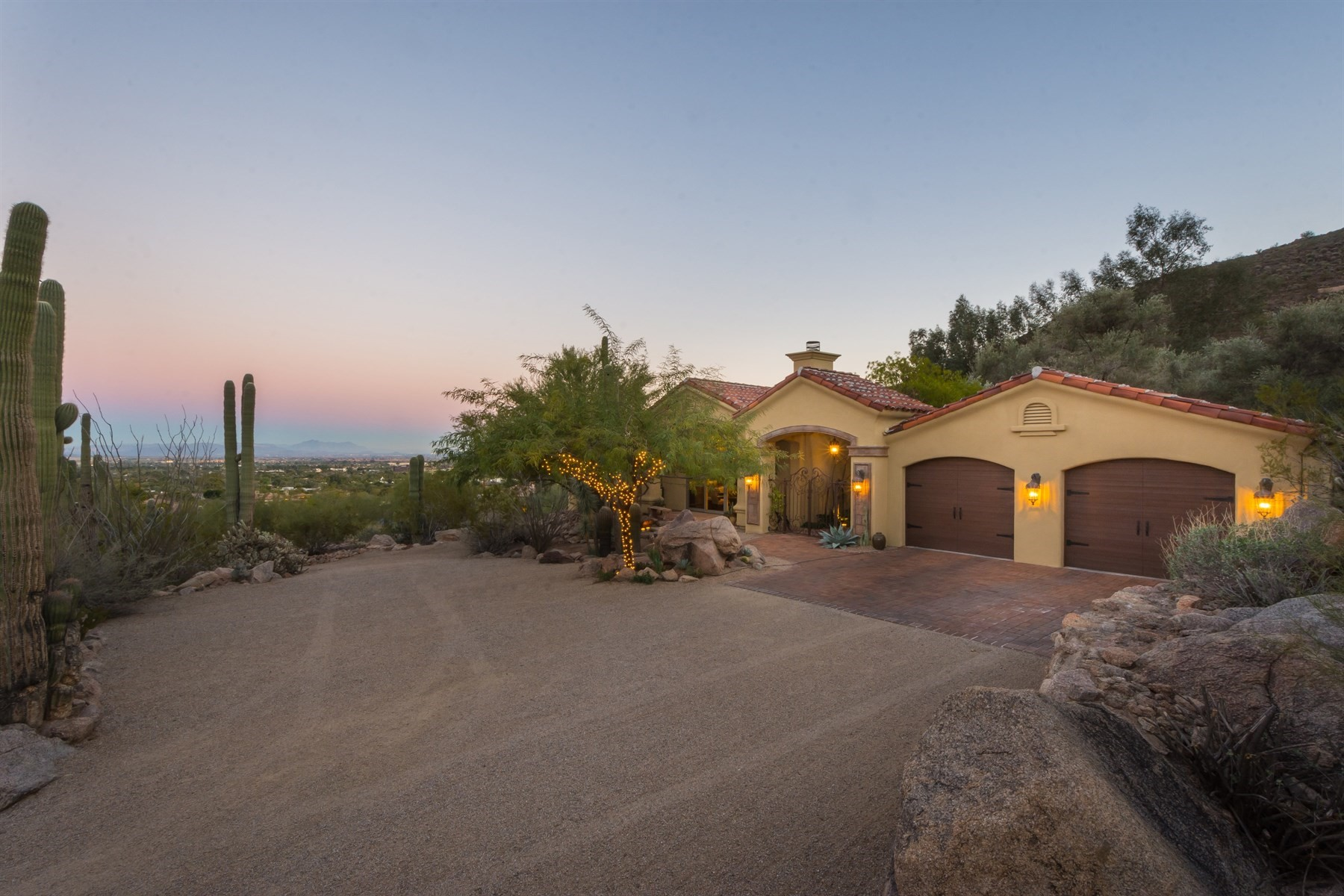 sales property at Beautiful Paradise Valley home with incredible views
