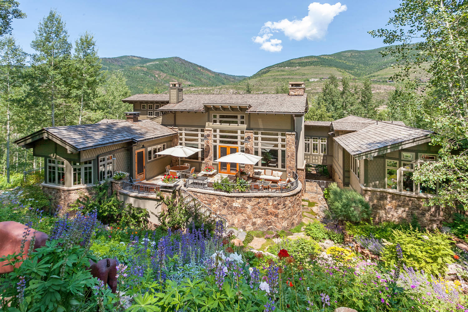 Single Family Home for Sale at 1350 Greenhill Ct Cascade, Vail, Colorado, 81657 United States