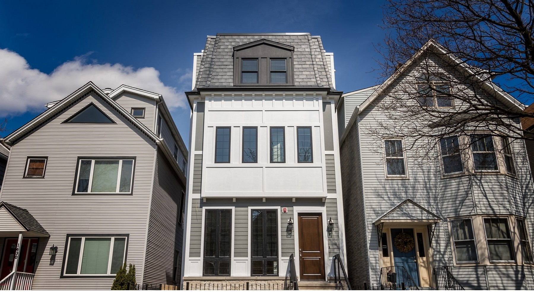 Single Family Home for Sale at Outstanding New Burley School Home 1428 W George Street Lakeview, Chicago, Illinois, 60657 United States