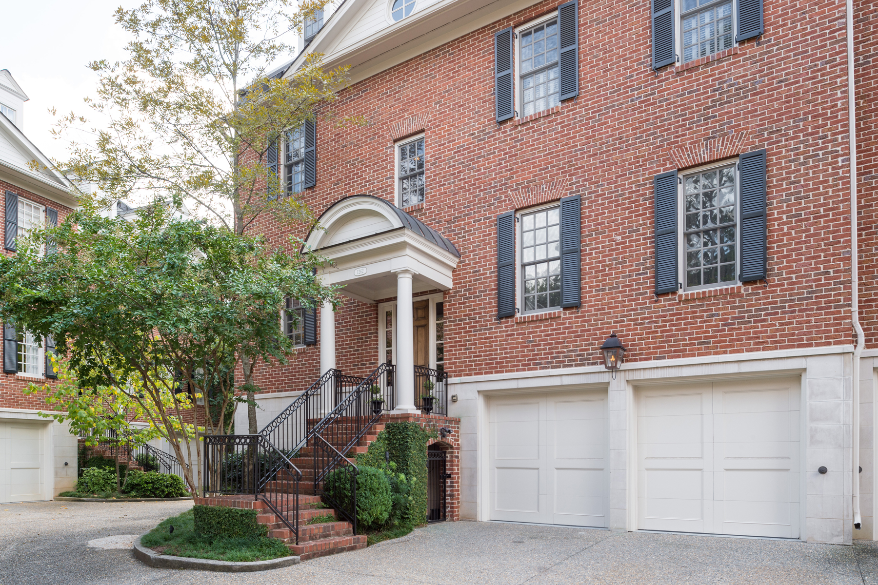 Townhouse for Sale at Handsome Federal Style Townhouse 1262 Bellaire Lane NE Unit 7 Atlanta, Georgia, 30319 United States