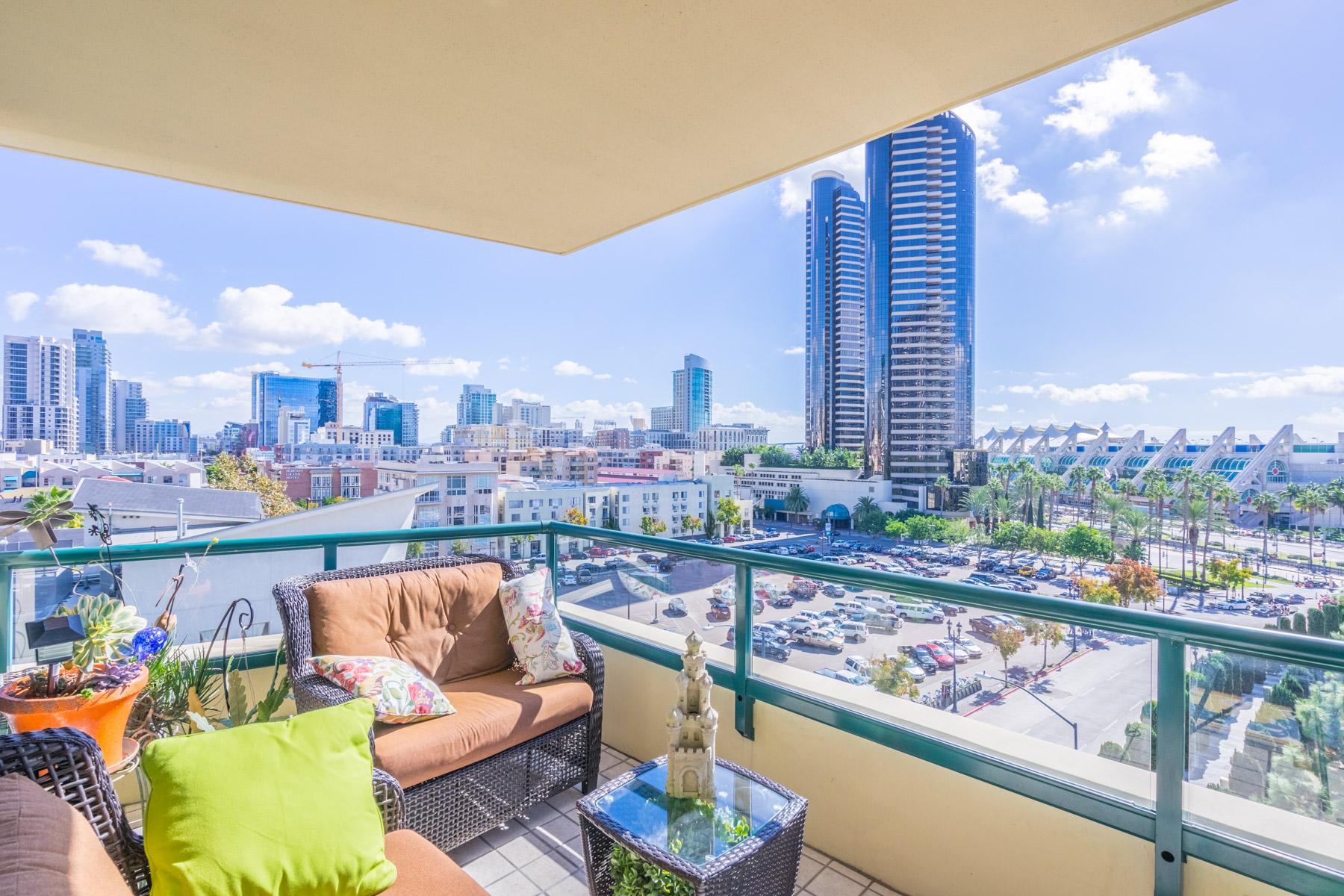 Appartement en copropriété pour l Vente à Horizons 510 First Avenue 702 Marina, San Diego, Californie 92101 États-Unis