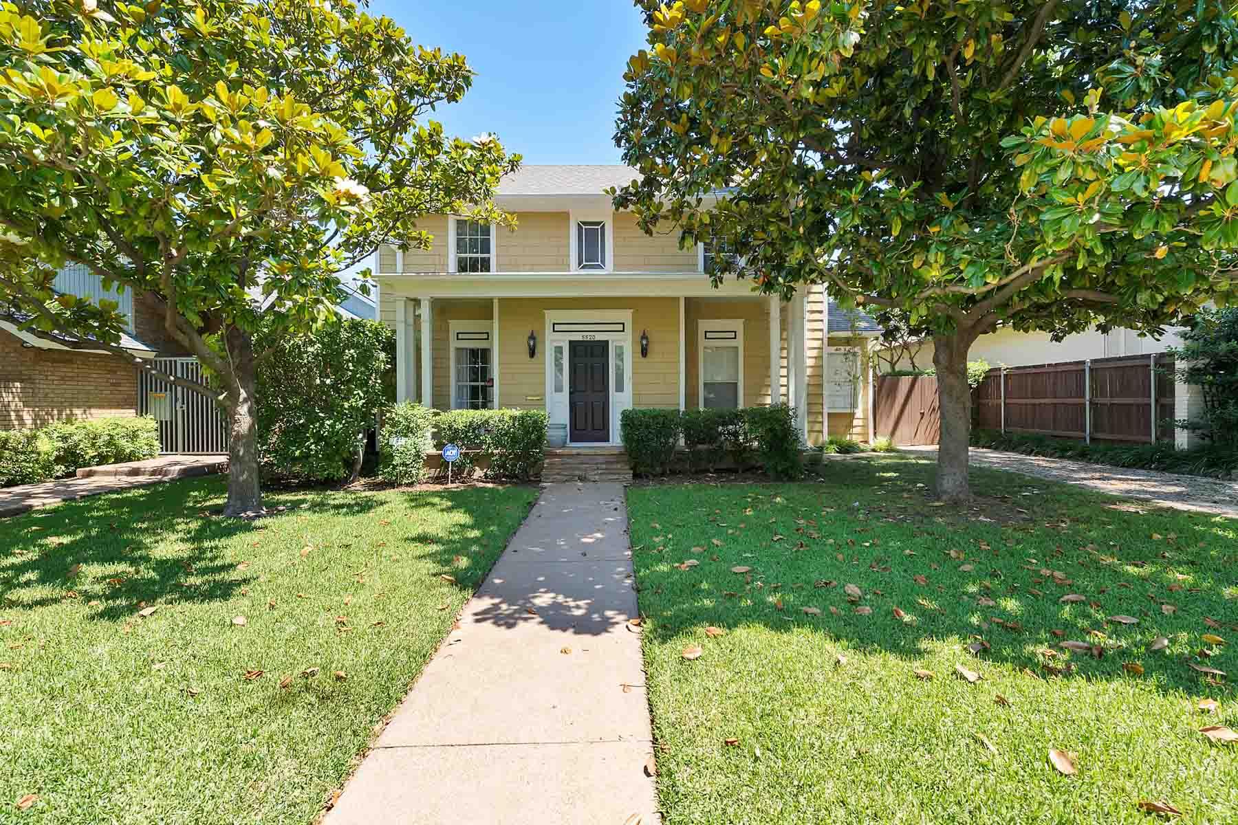 Casa para uma família para Venda às Traditional, Chamberlin Arlington Heights 5520 Collinwood Avenue Fort Worth, Texas, 76107 Estados Unidos
