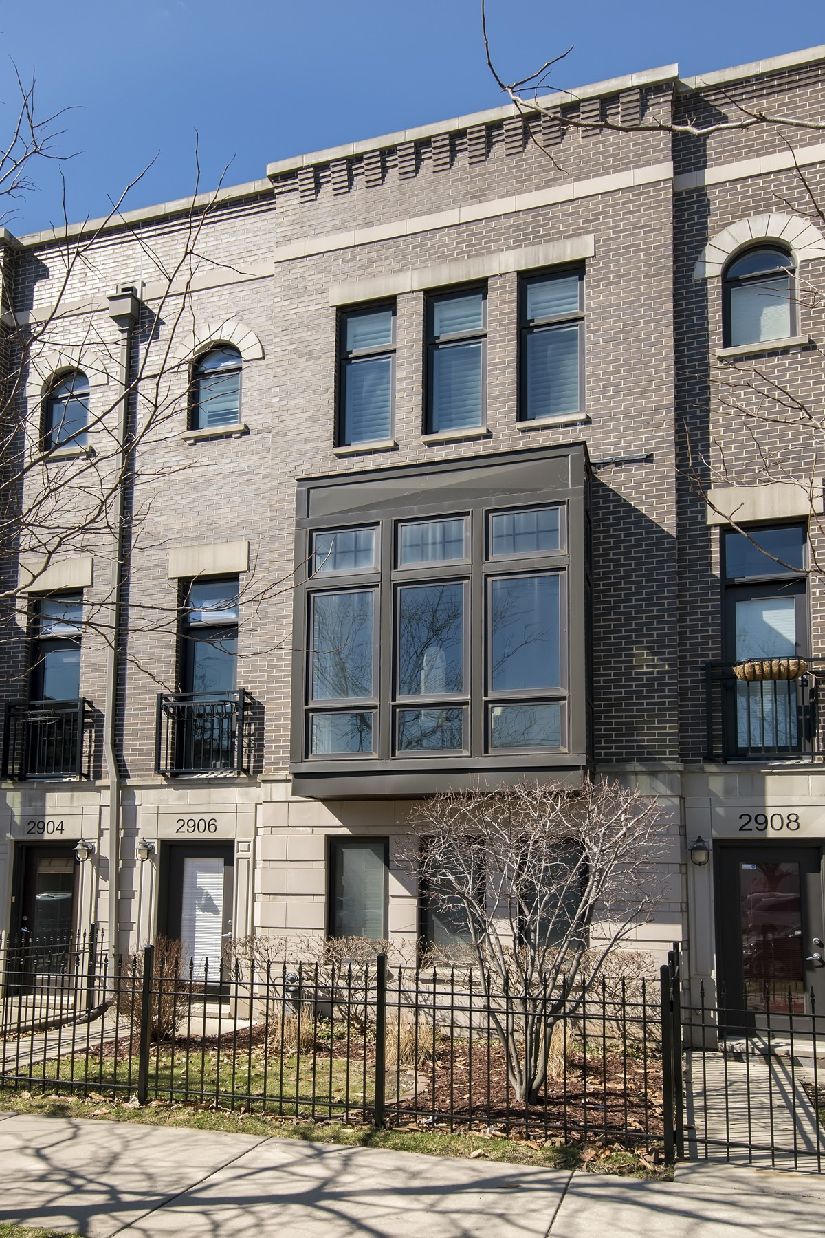Adosado por un Venta en Show Stopping Town Home! 2906 N Paulina Street Unit 13 Lakeview, Chicago, Illinois, 60657 Estados Unidos